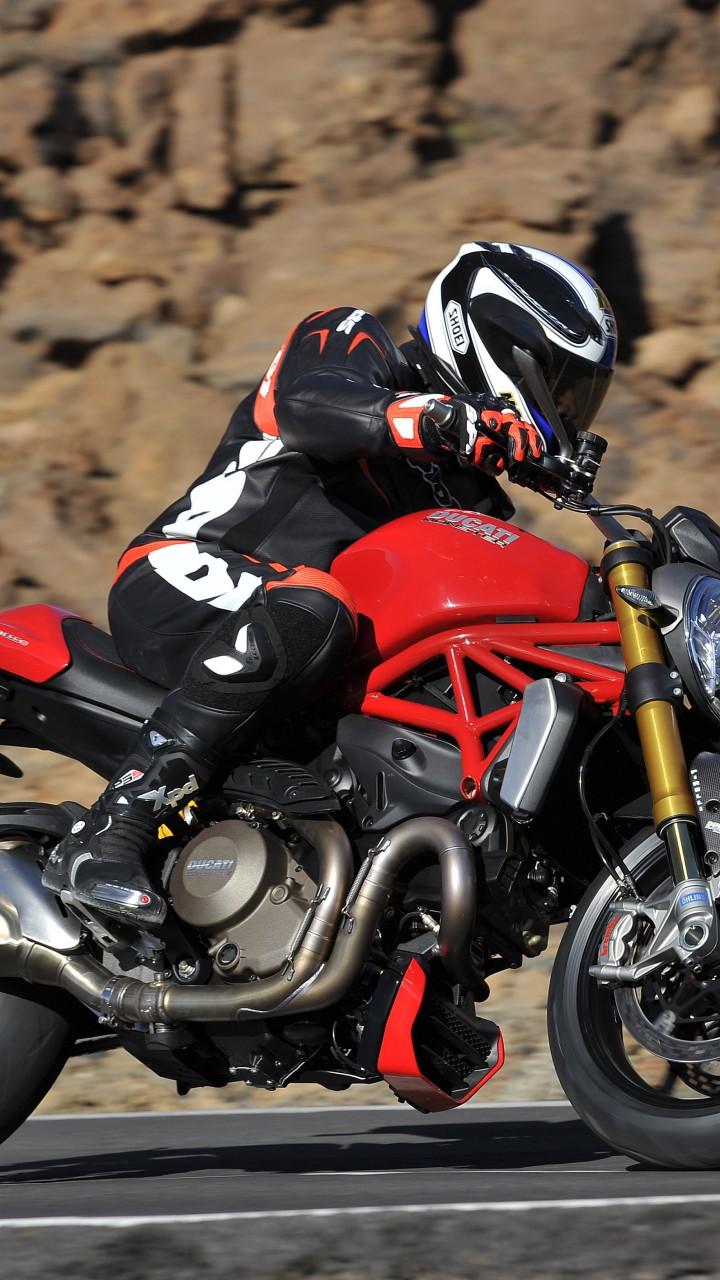Wallpaper Ducati Monster 1200S, Best Bikes 2015