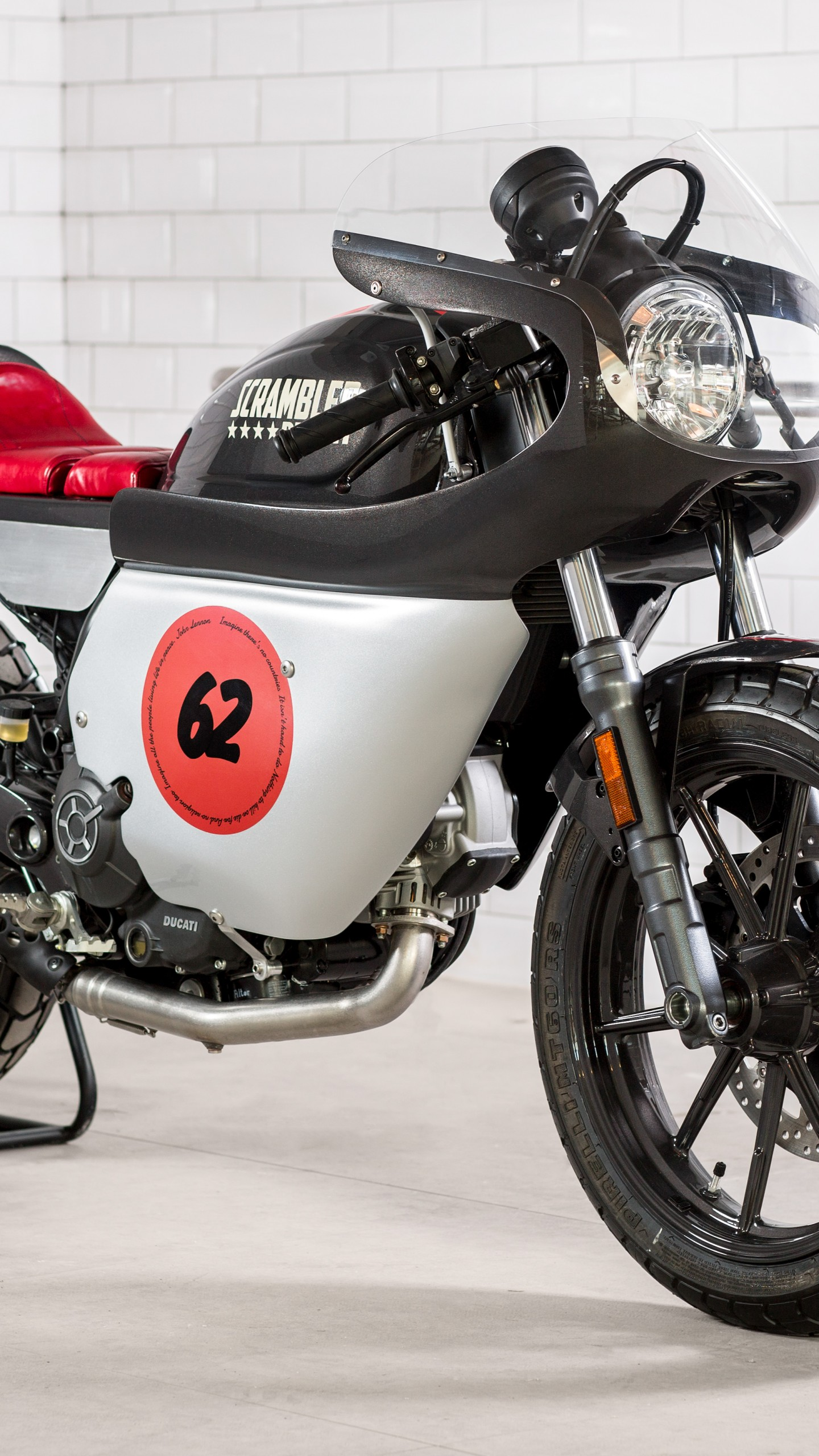 Tesla Sports Car >> Wallpaper Ducati Scrambler Peace, Verona Motor Bike Expo ...