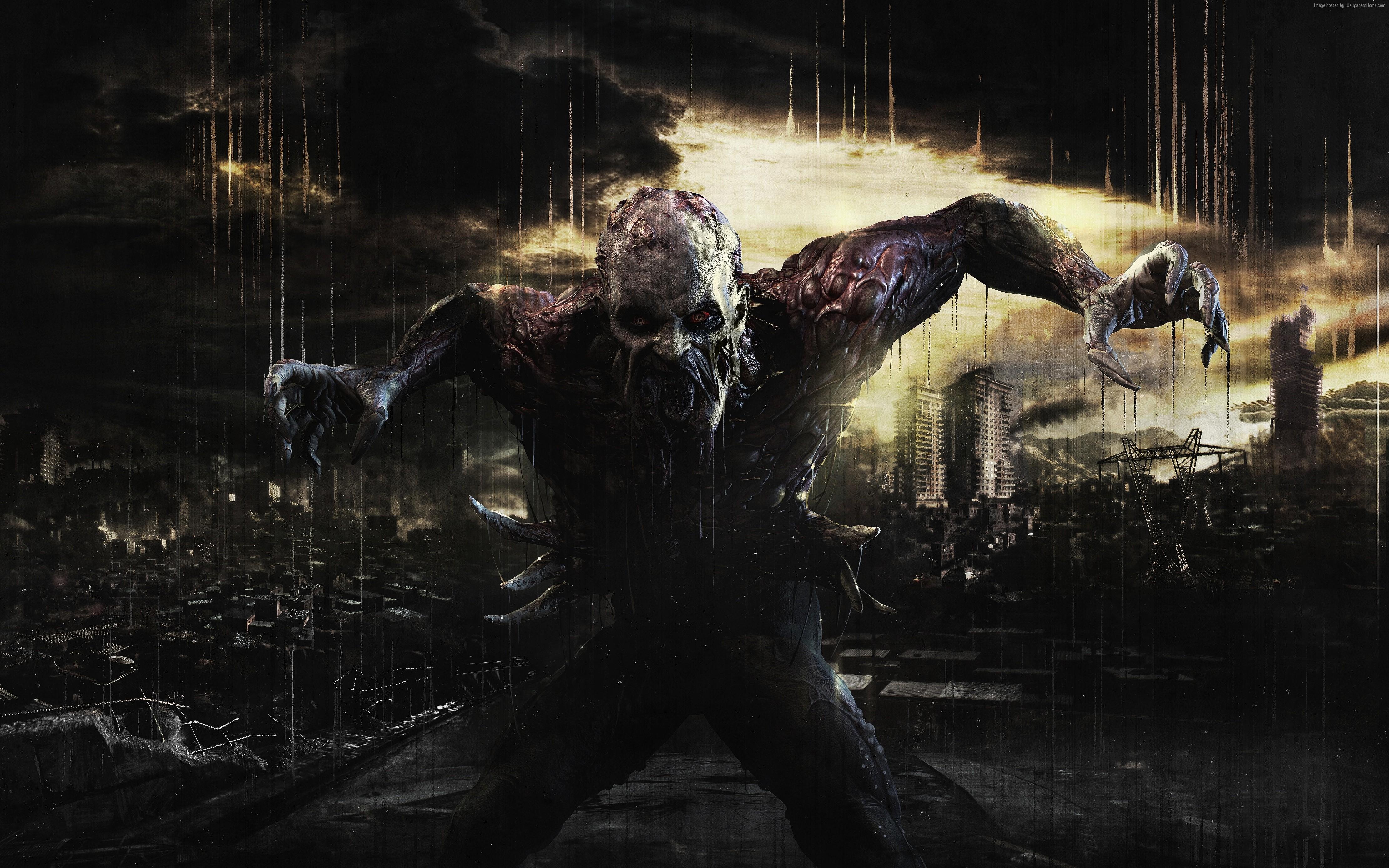 Wallpaper Dying Light, game, Survival Horror, open world ...