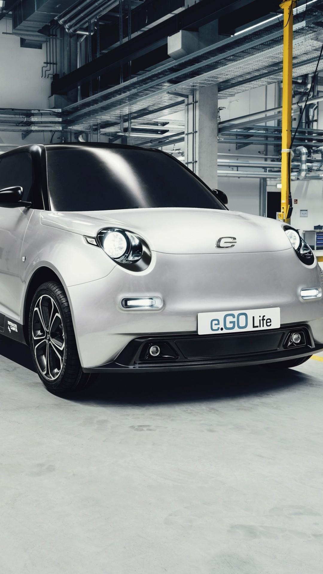 Wallpaper e.GO Life, electric cars, concept, eco friendly ...