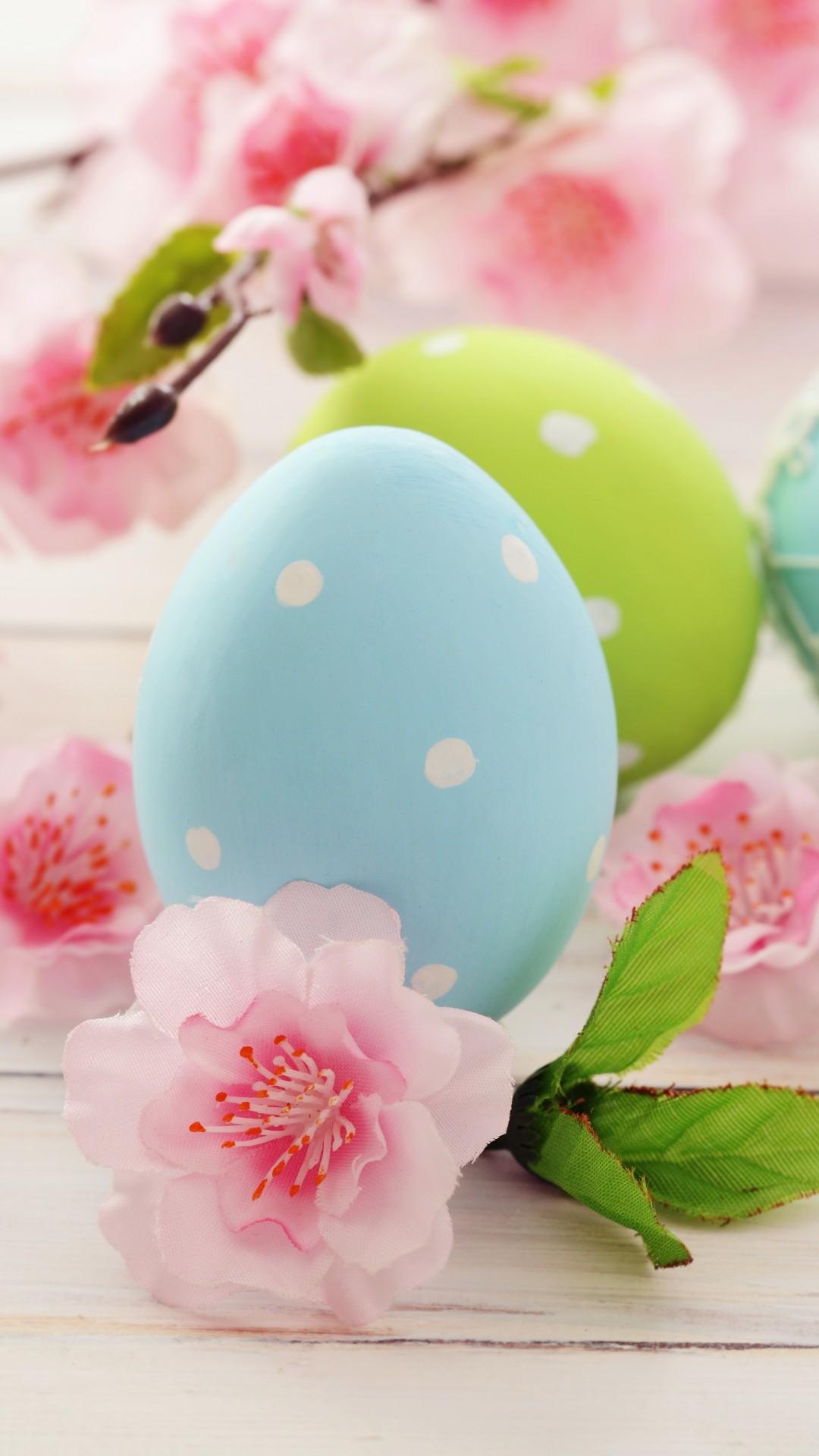 Wallpaper Easter Eggs Branch Flowers Holidays 4449