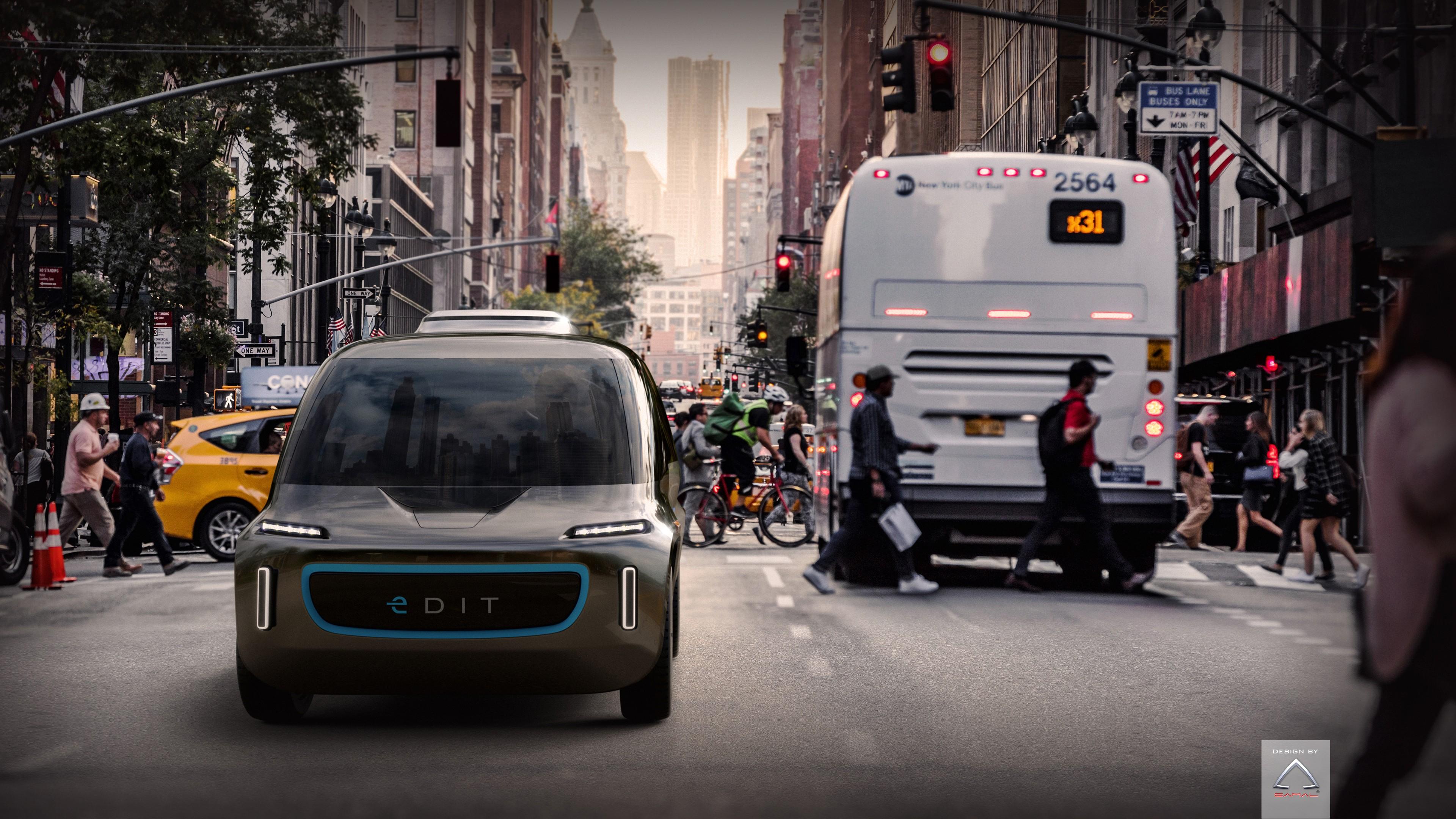 Wallpaper EDIT, Self-Driving Car, 4k, HD, electric cars ...