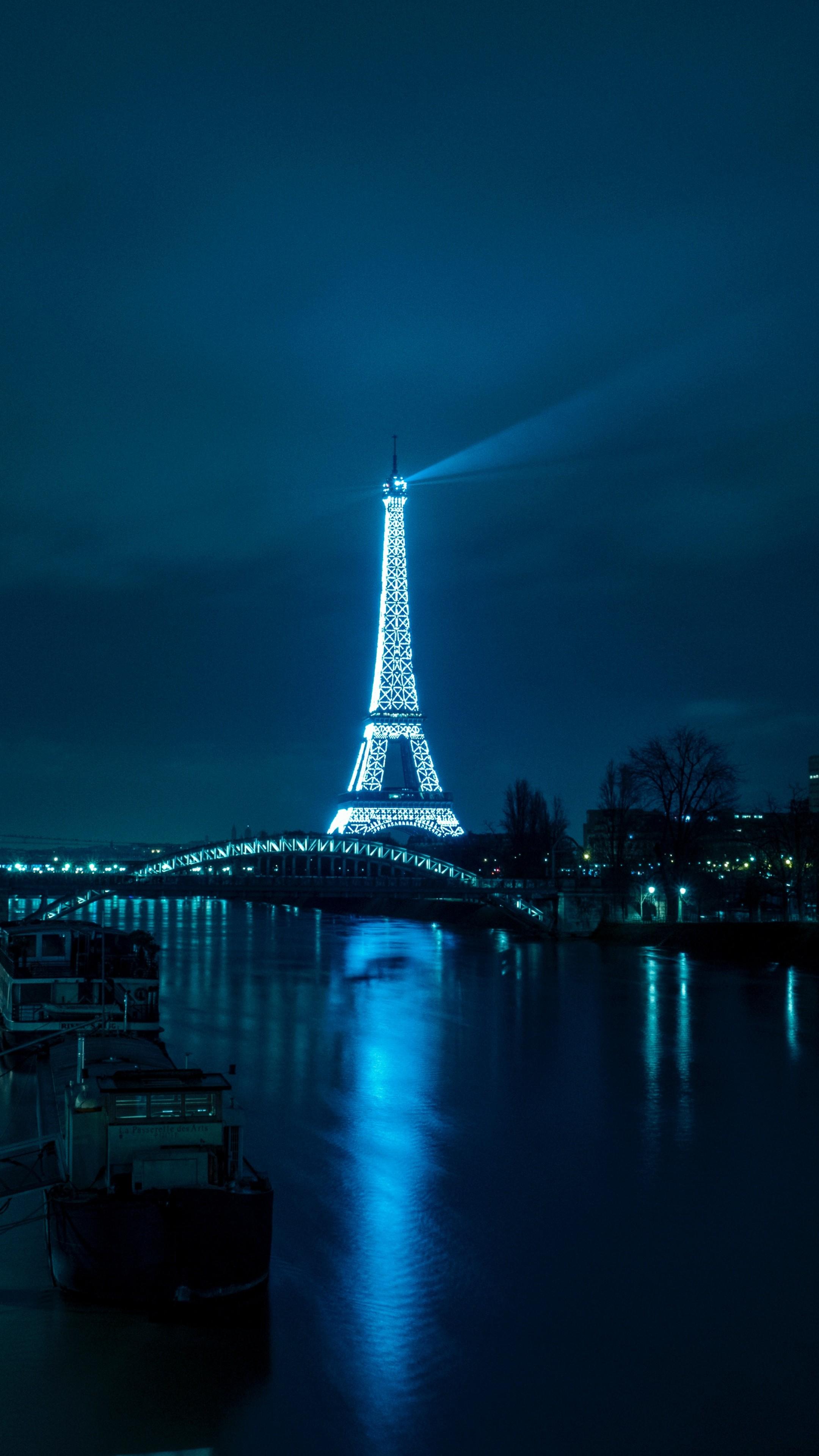 Wallpaper Eiffel Tower France Paris 4k 5k