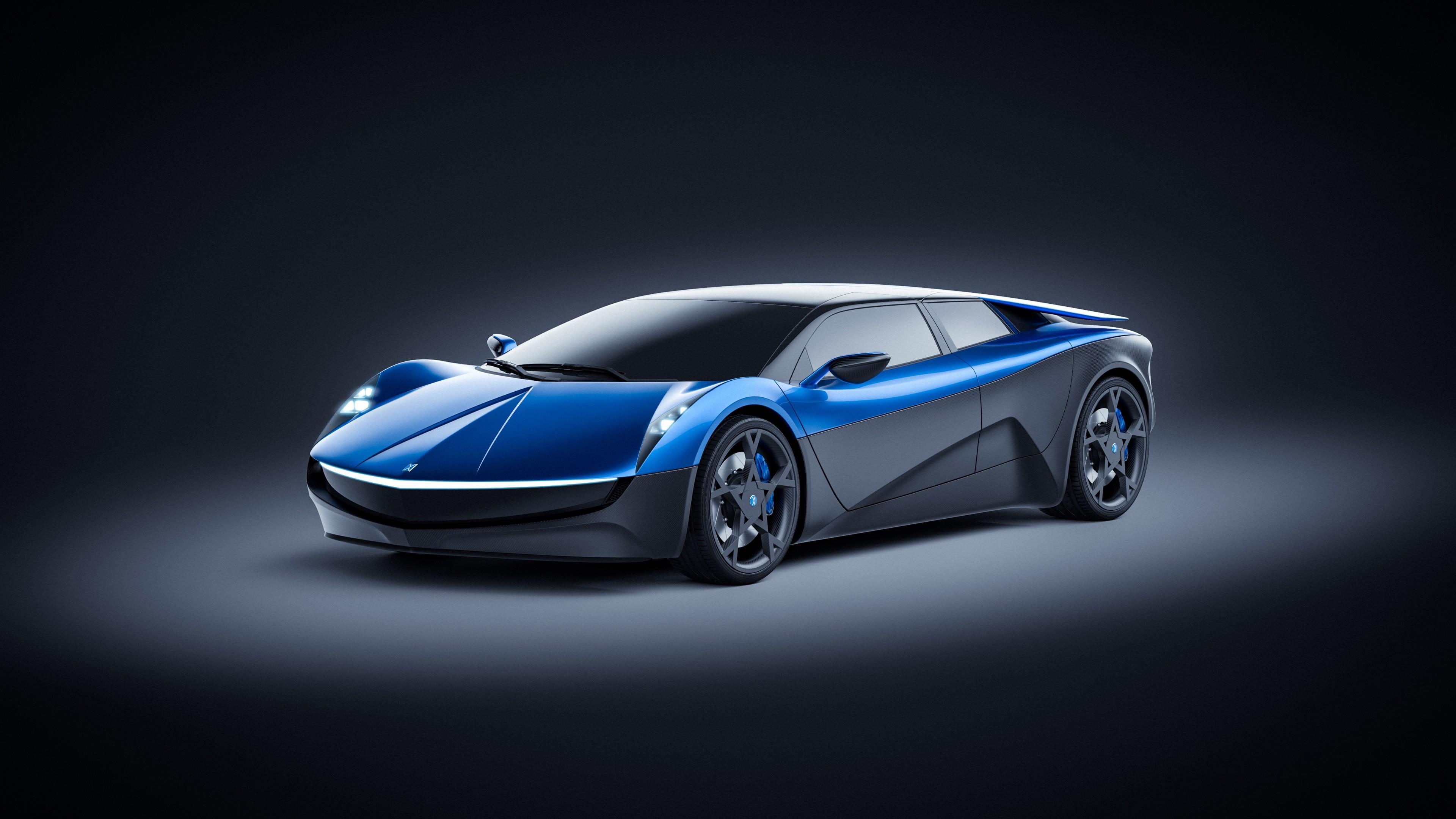 Wallpaper Elextra Electric Sedan Electric Cars Concept 4k Cars