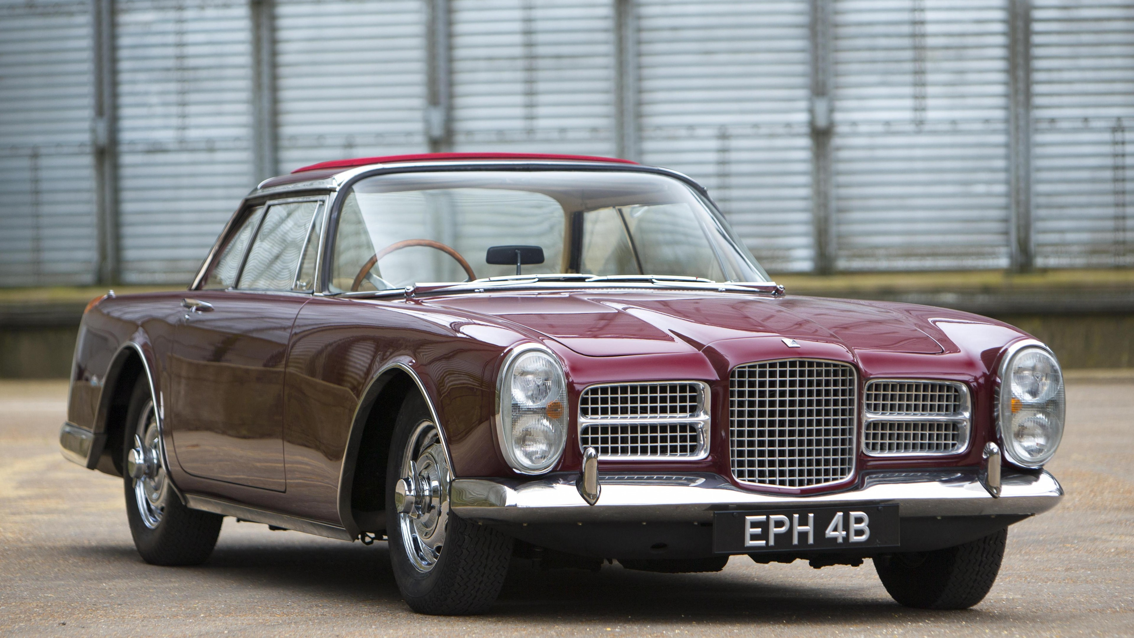 Nissan Luxury Brand >> Wallpaper Facel Vega, Facellia, III, 3, classic cars, sports car, front, rent, buy, HK500, FVS ...