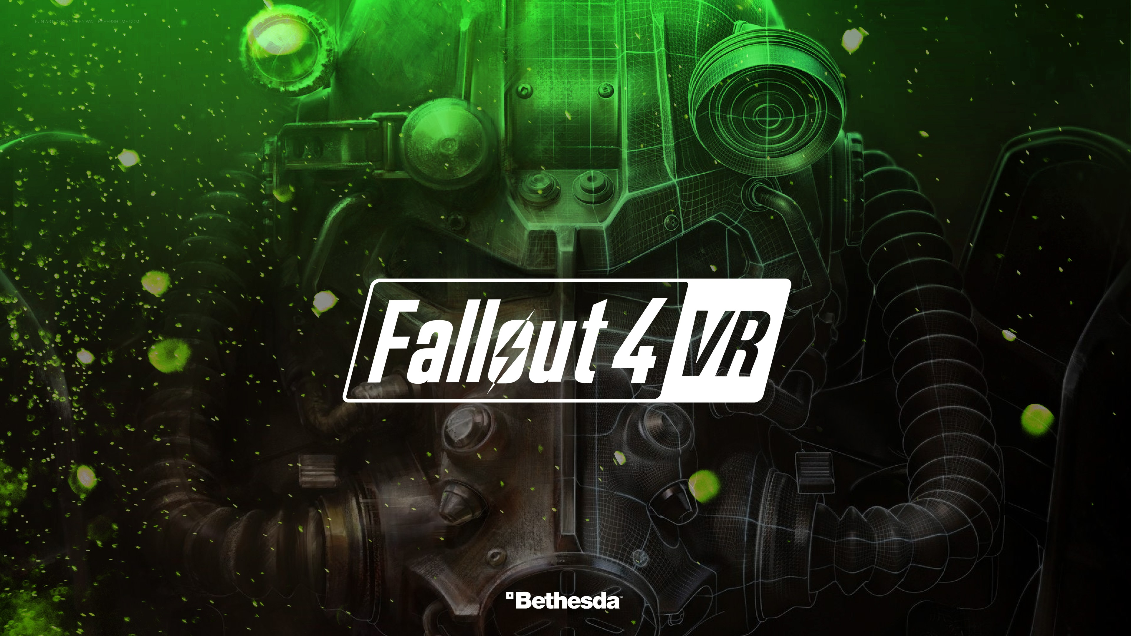 Wallpaper Fallout 4 Vr 4k E3 2017 Games 13727