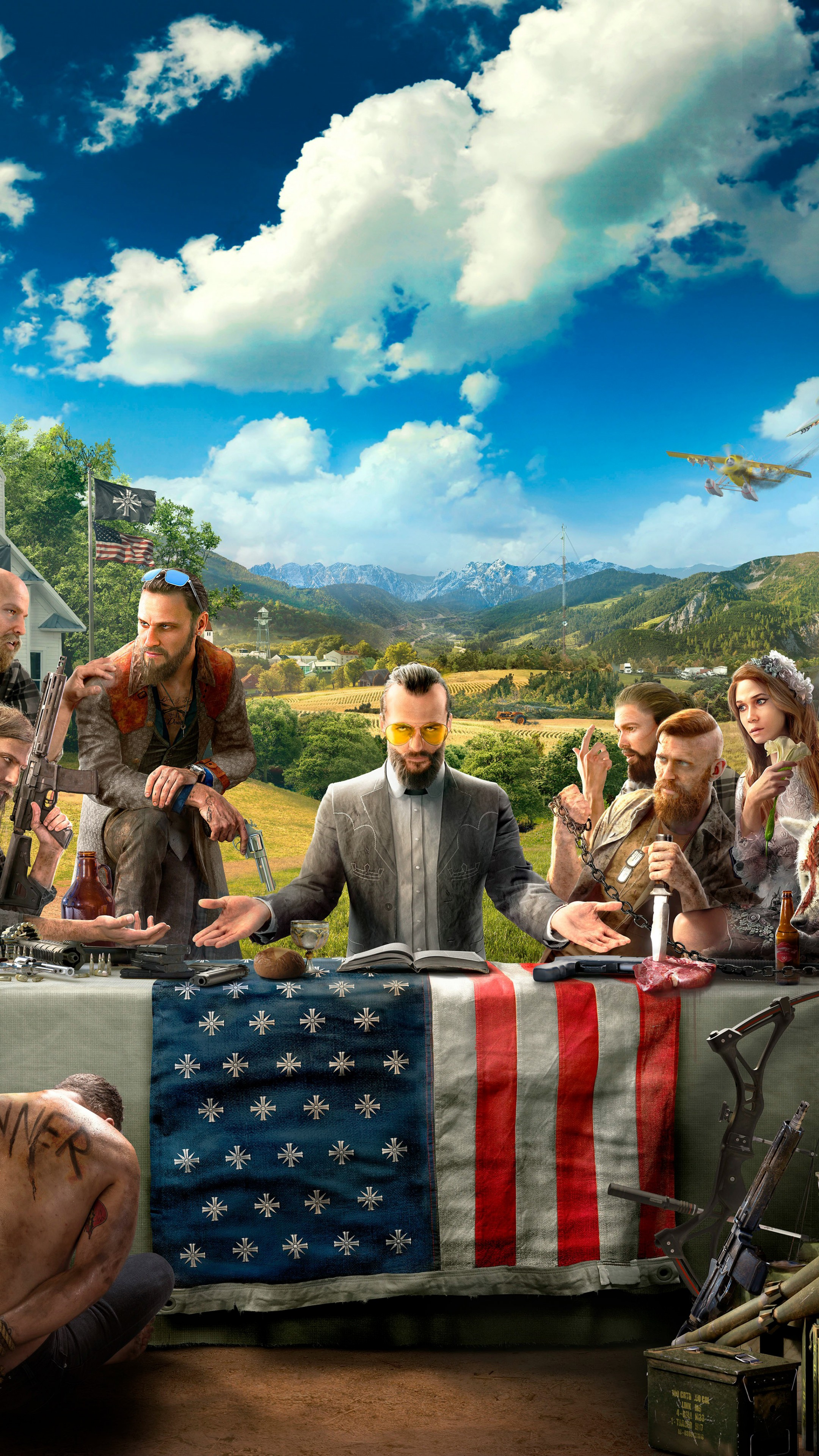 Wallpaper Far Cry 5 4k 8k Poster Art Games 13607
