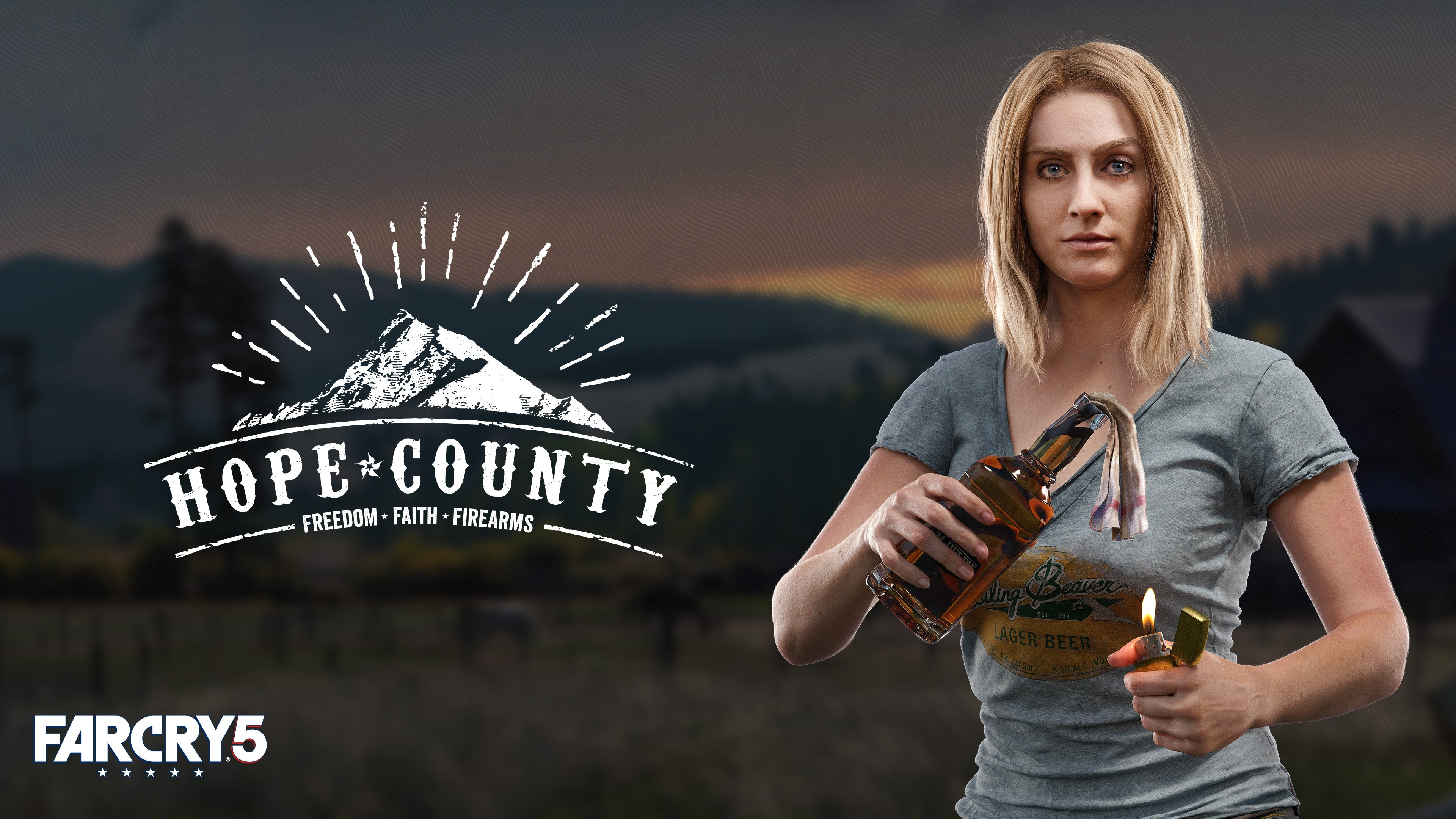 Wallpaper Far Cry 5 Hope County Poster Think Divine 4k Games 18095 Page 6