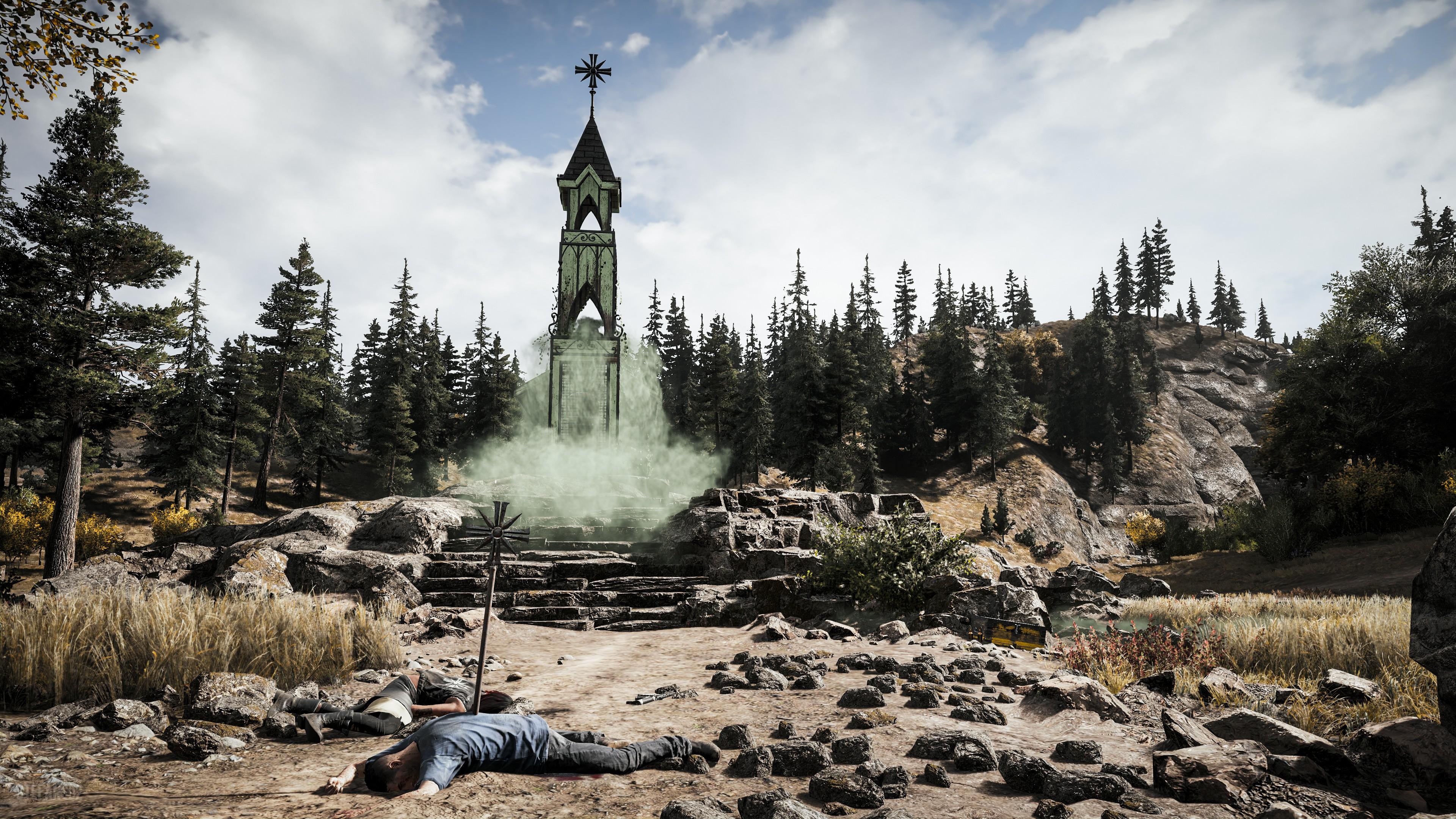Wallpaper Far Cry 5 Hope County Screenshot Think Divine 4k