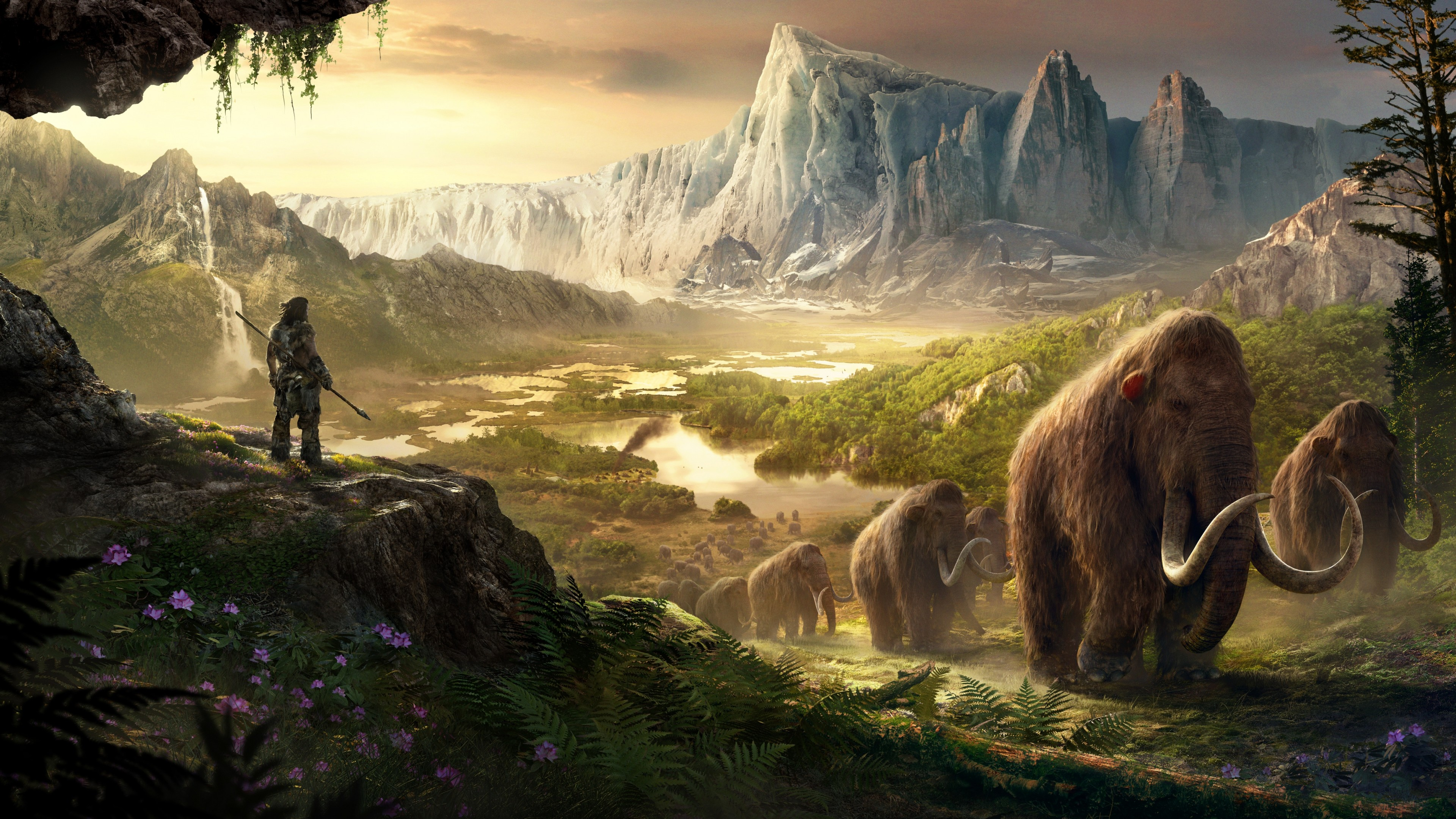 Wallpaper Far Cry Primal, Best Game, PC, PS4, Xbox One