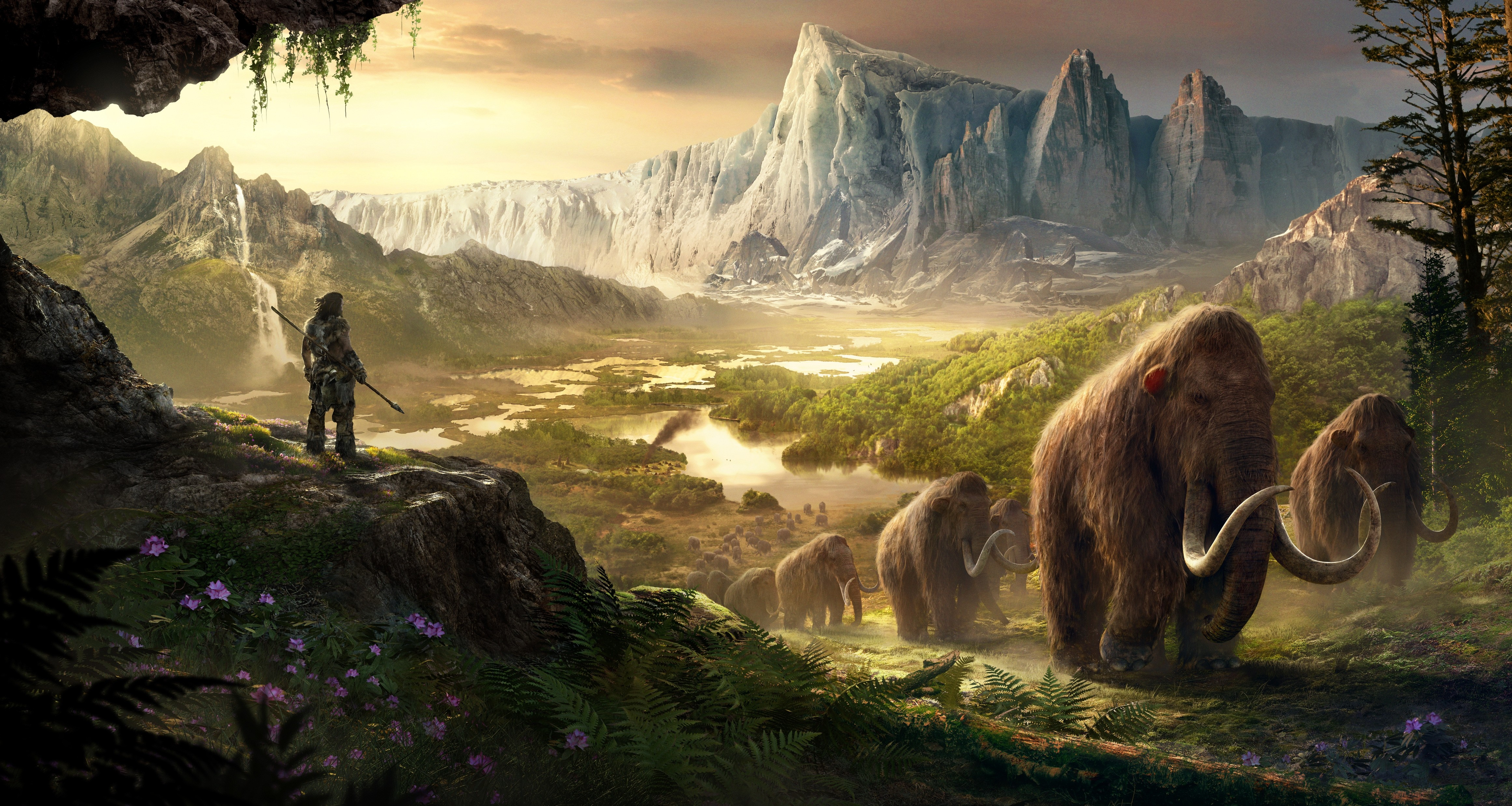 wallpaper far cry primal  best game  pc  ps4  xbox one