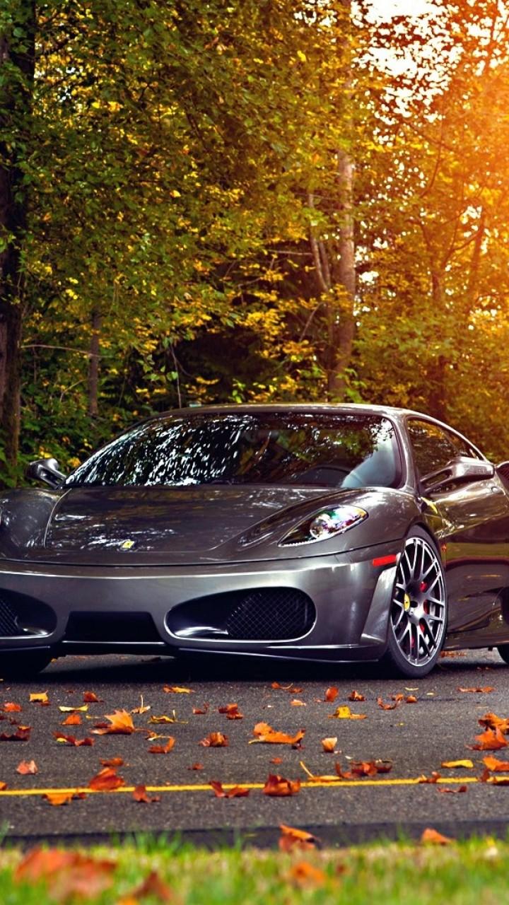 Wallpaper Ferrari 430 Scuderia 2018 Cars Autumn Road