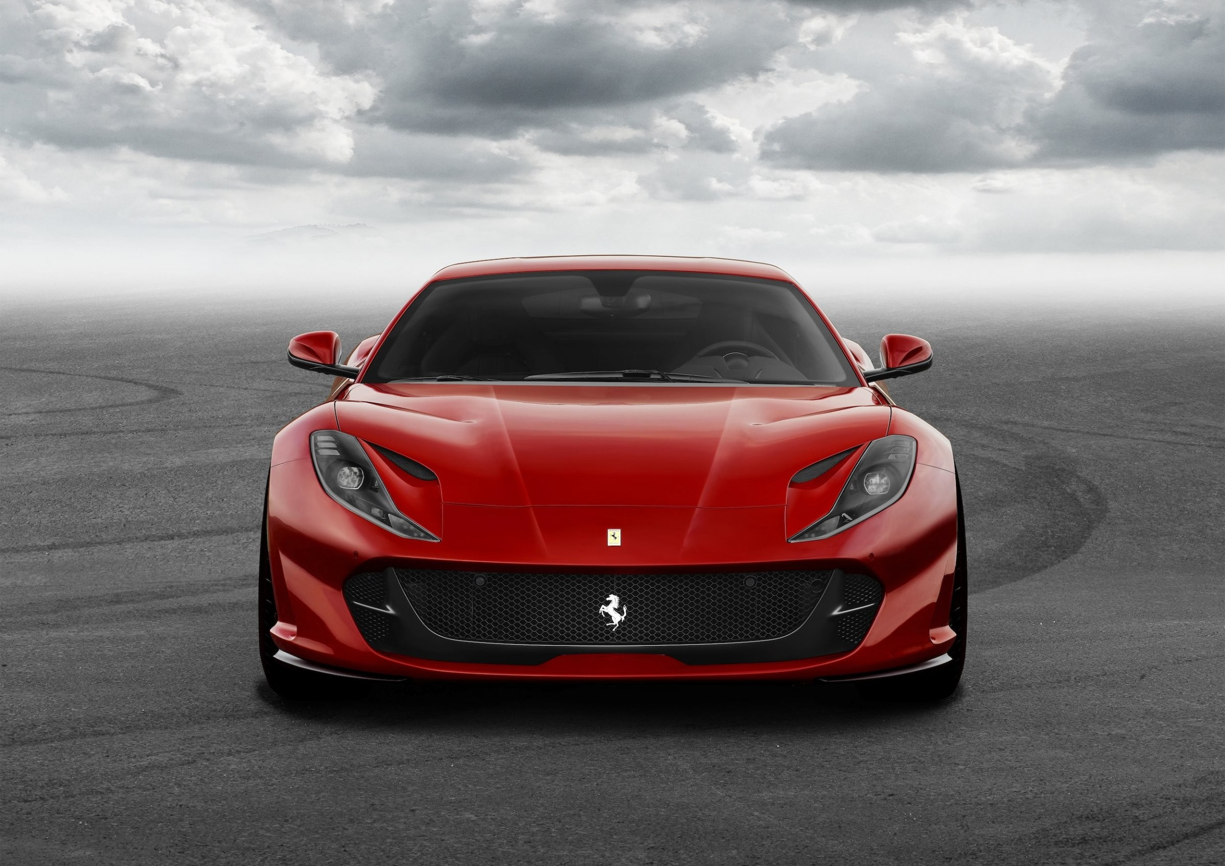 Wallpaper Ferrari Superfast Supercar Front Cars Bikes
