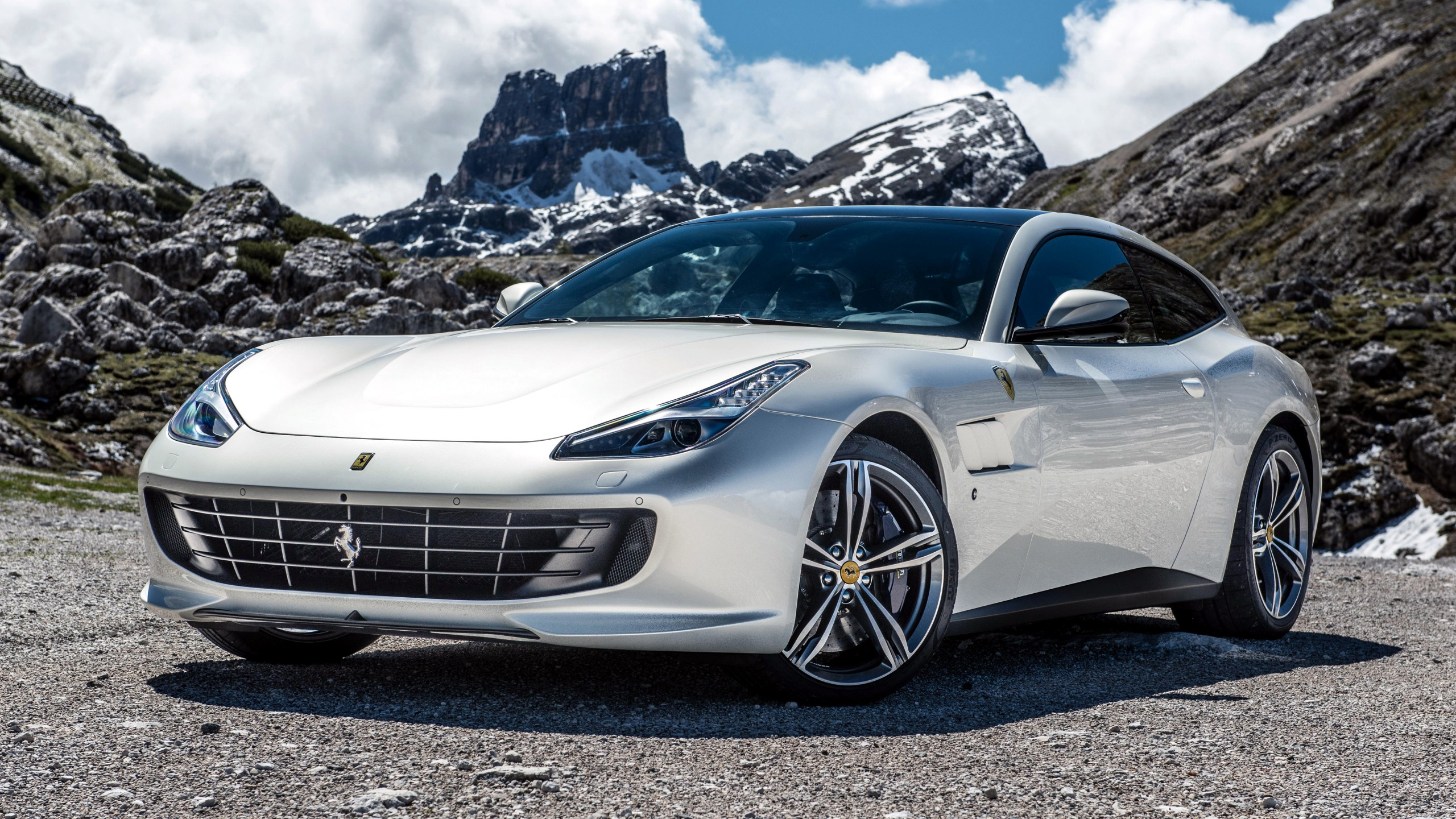 Wallpaper Ferrari Gtc4 Lusso Supercar White Cars Bikes 11517
