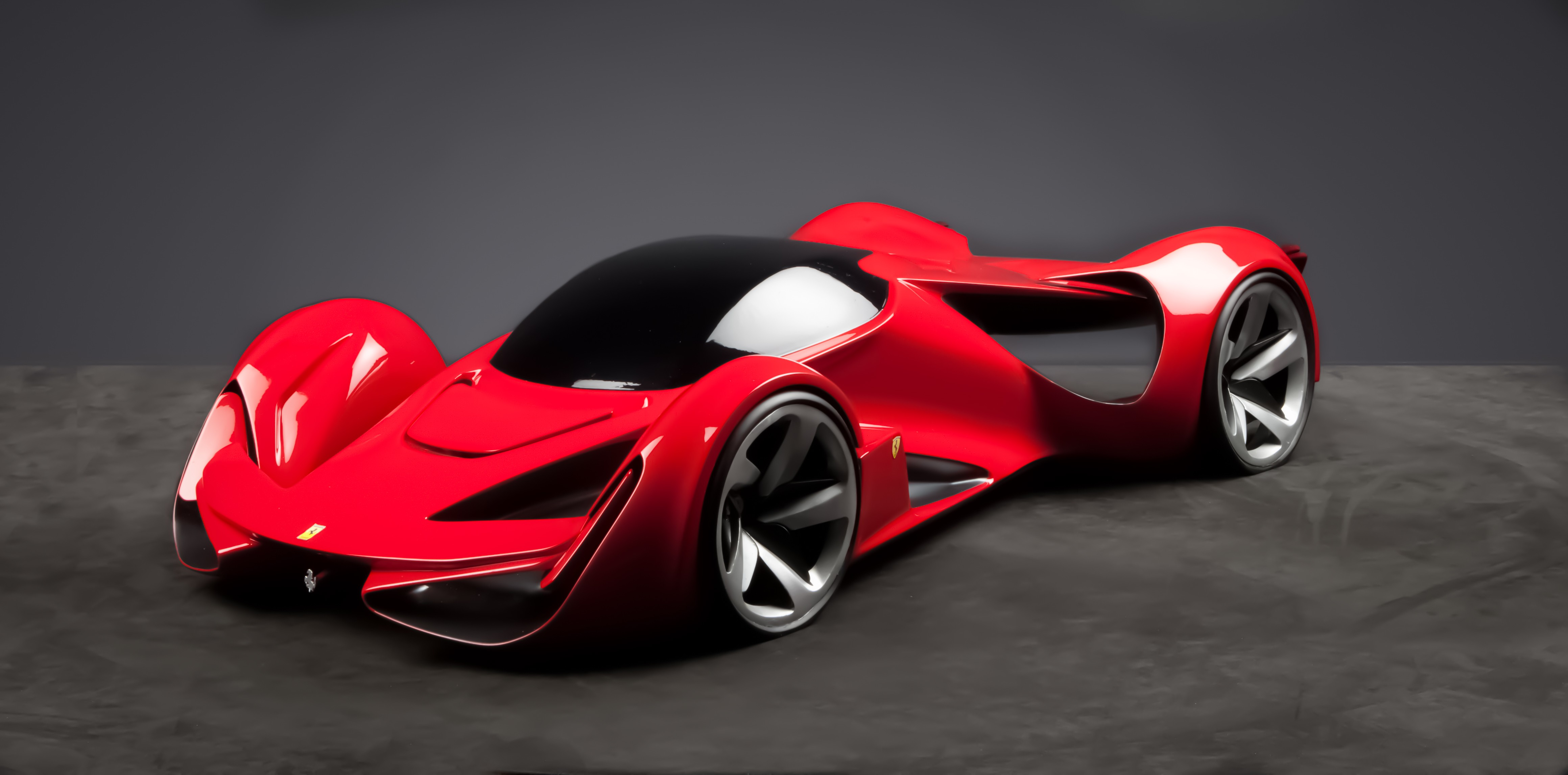Nissan Luxury Brand >> Wallpaper Ferrari Intervallo, supercar, Ferrari World Design Contest 2016, FWDC, red, Cars ...