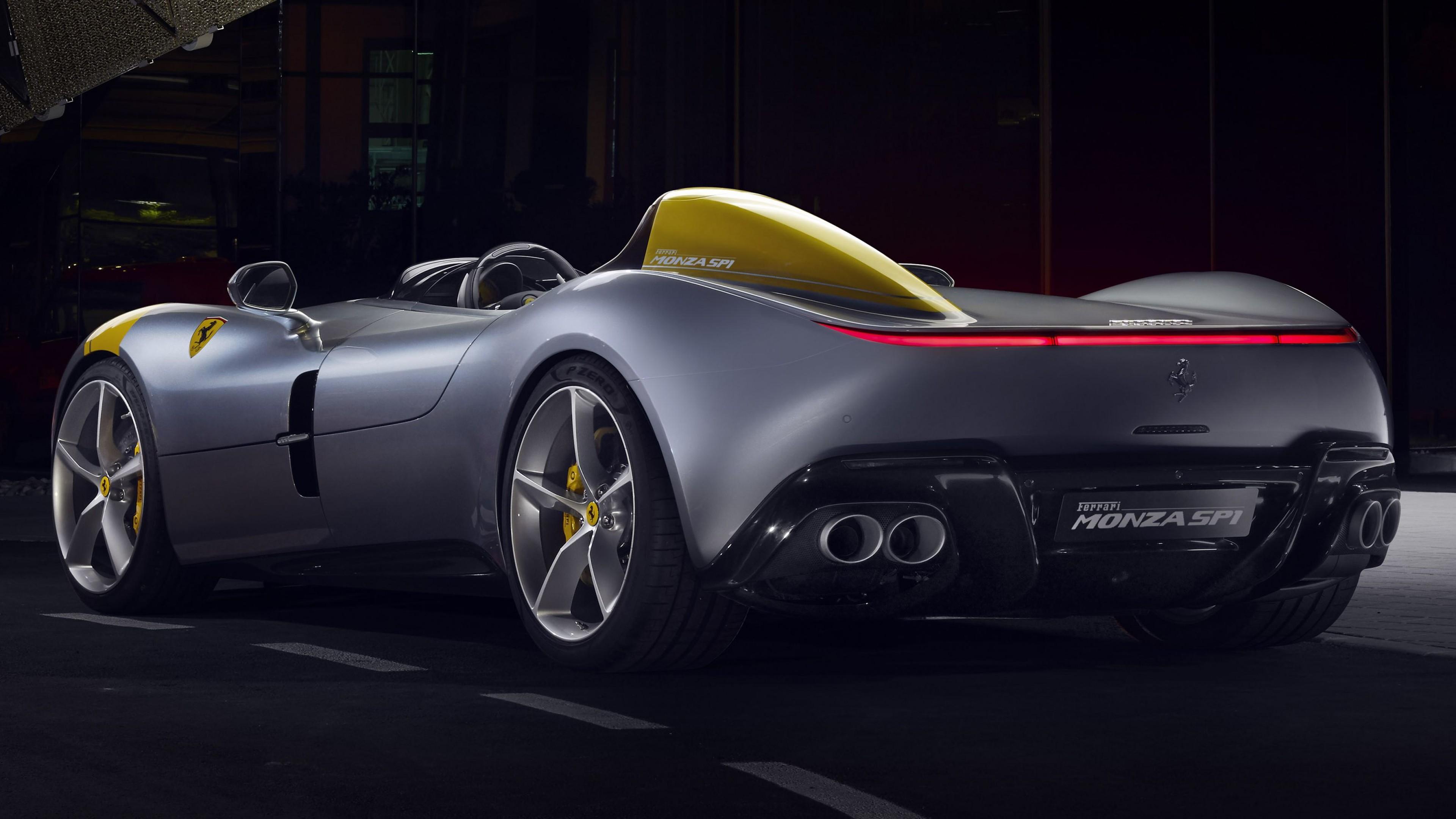 Wallpaper Ferrari Monza SP1, 2019 Cars, supercar, 4K, Cars ...