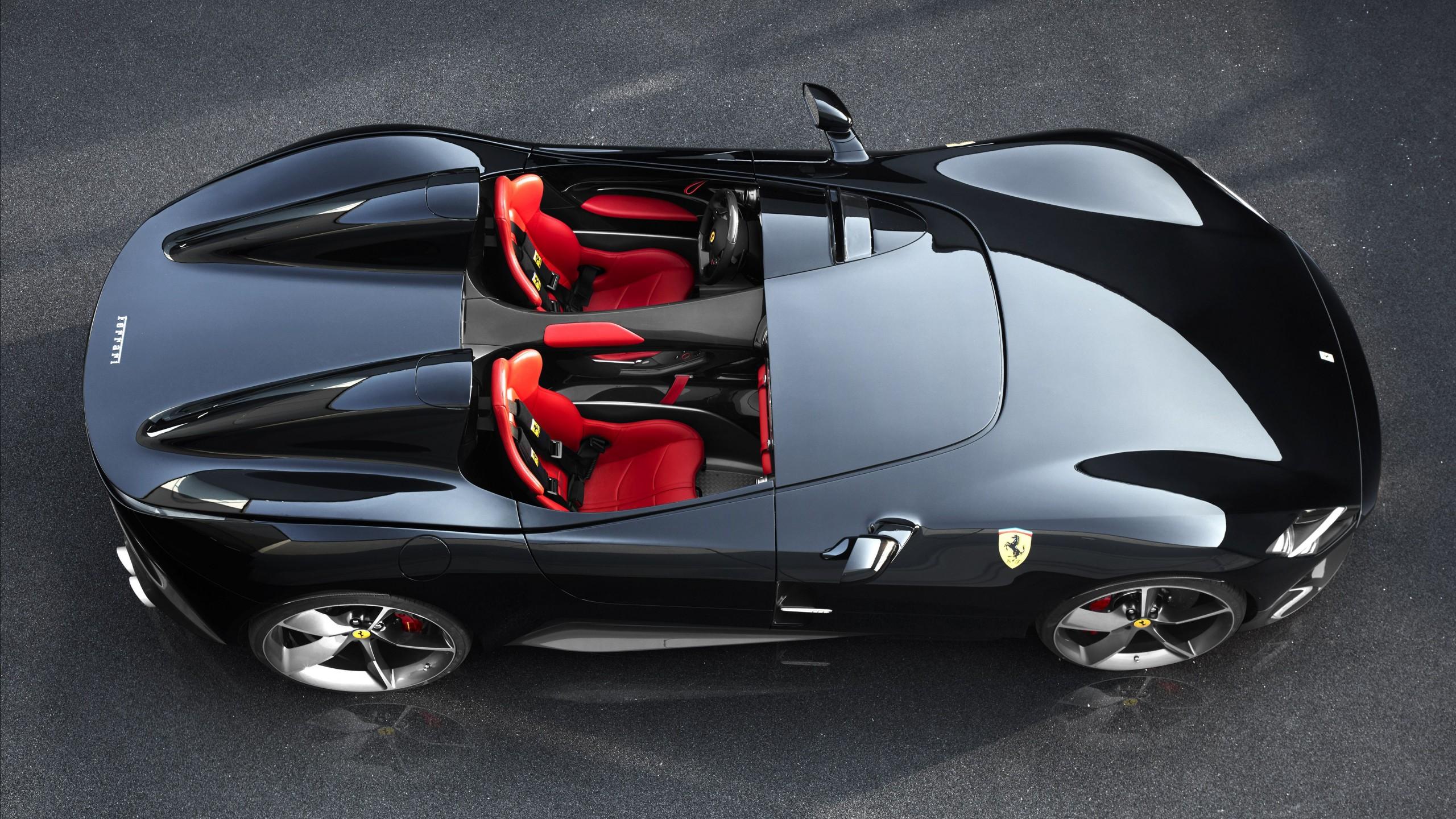 Auto Car Com >> Wallpaper Ferrari Monza SP2, 2019 Cars, supercar, 4K, Cars ...
