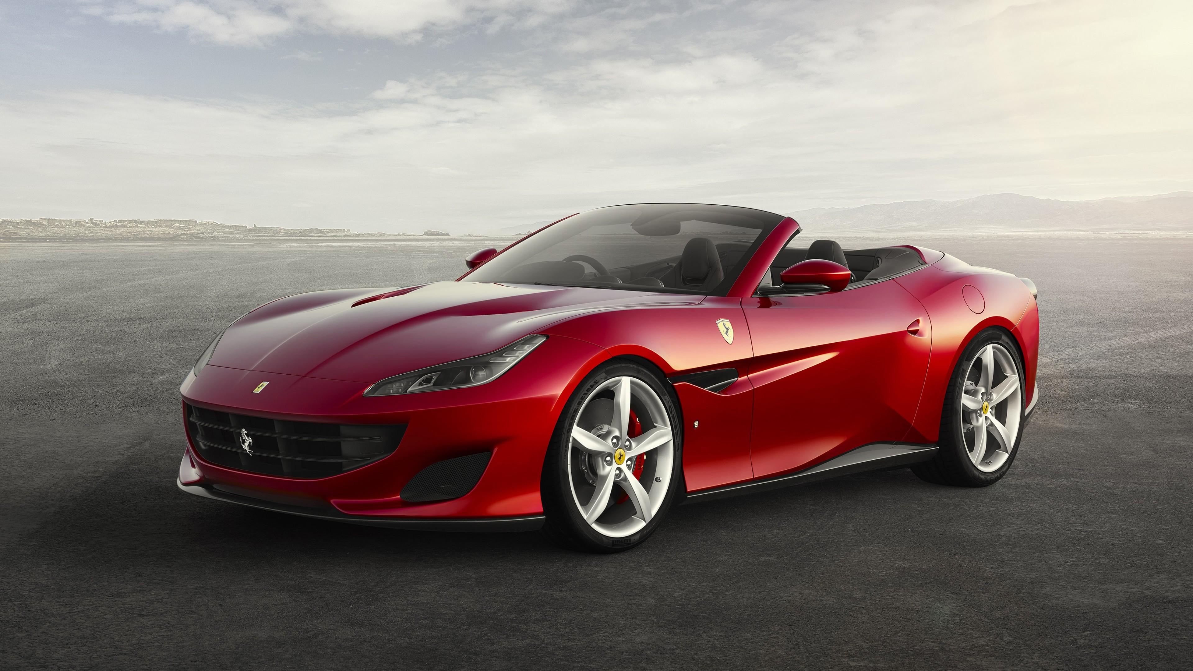 Wallpaper Ferrari Portofino GT, 2018 Cars, 4K, Cars