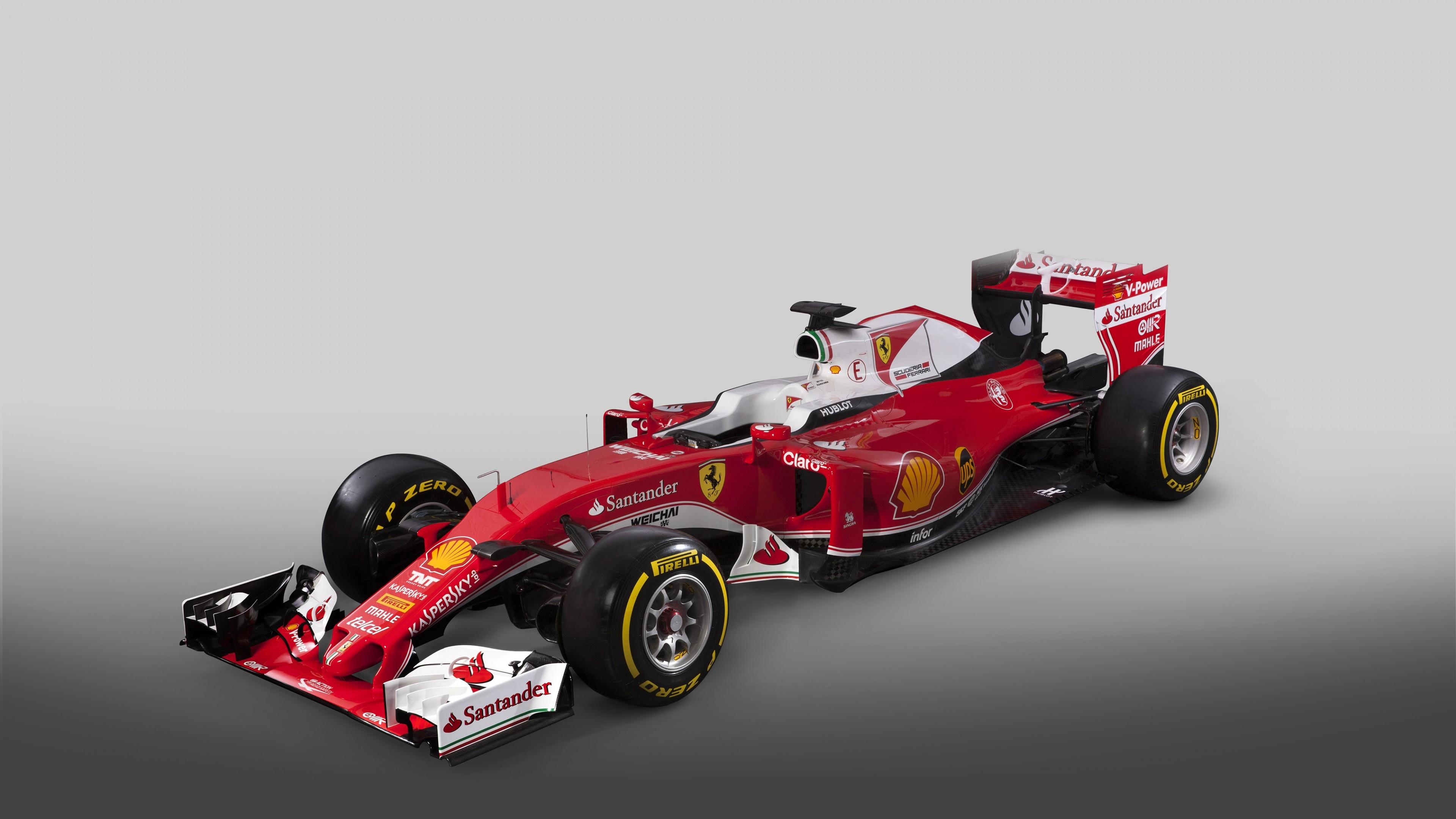 Foto Wallpaper Ferrari Sf16 H Formula 1 F1 Red Cars