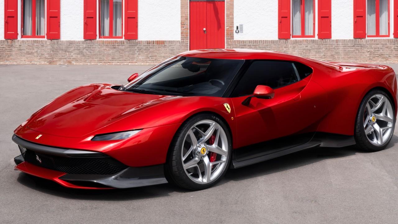 Wallpaper Ferrari Sp38 2018 Cars Luxury Cars 4k 8k