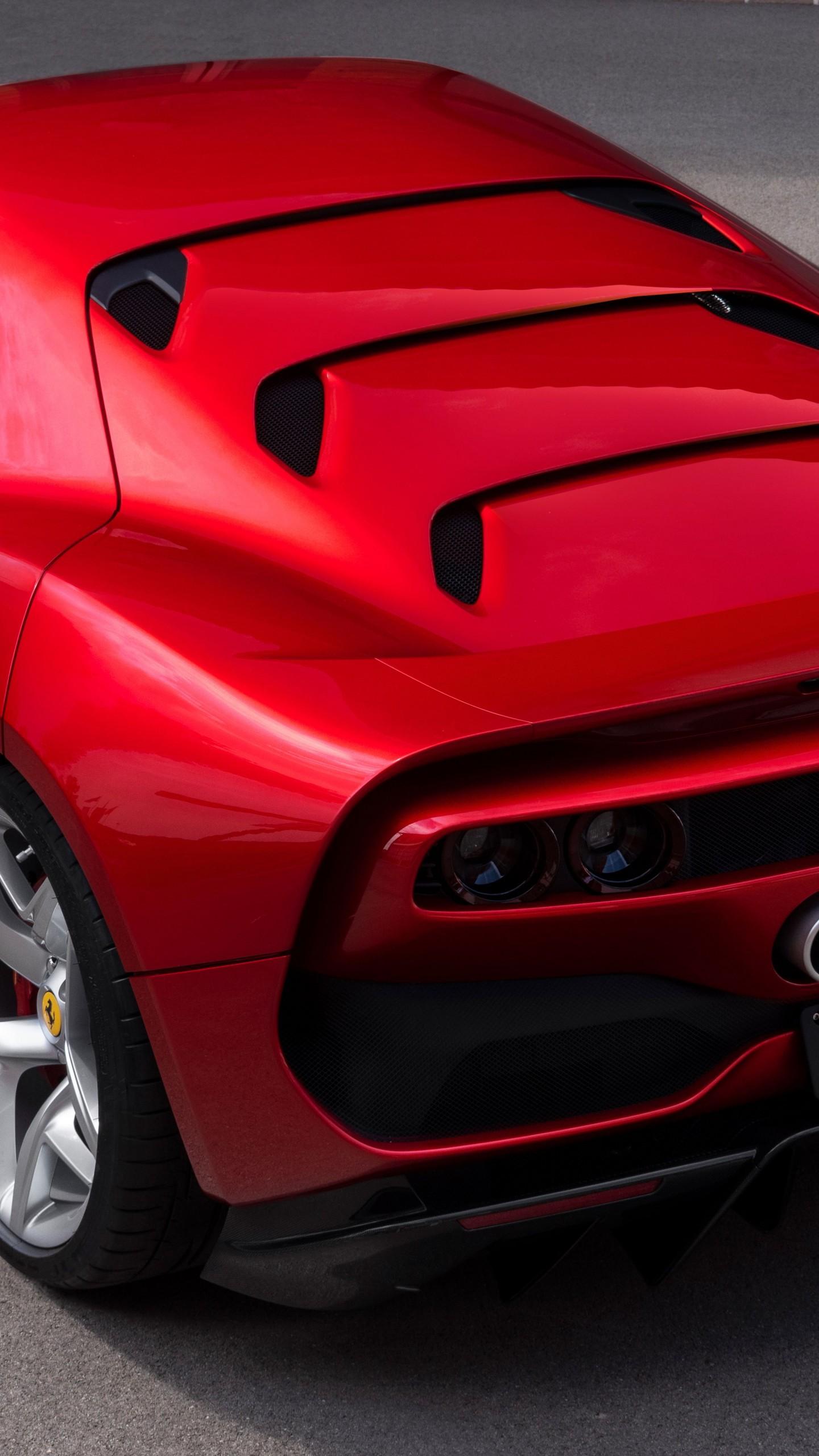 Wallpaper Ferrari SP38, 2018 Cars, Luxury cars, 4K, 8K ...