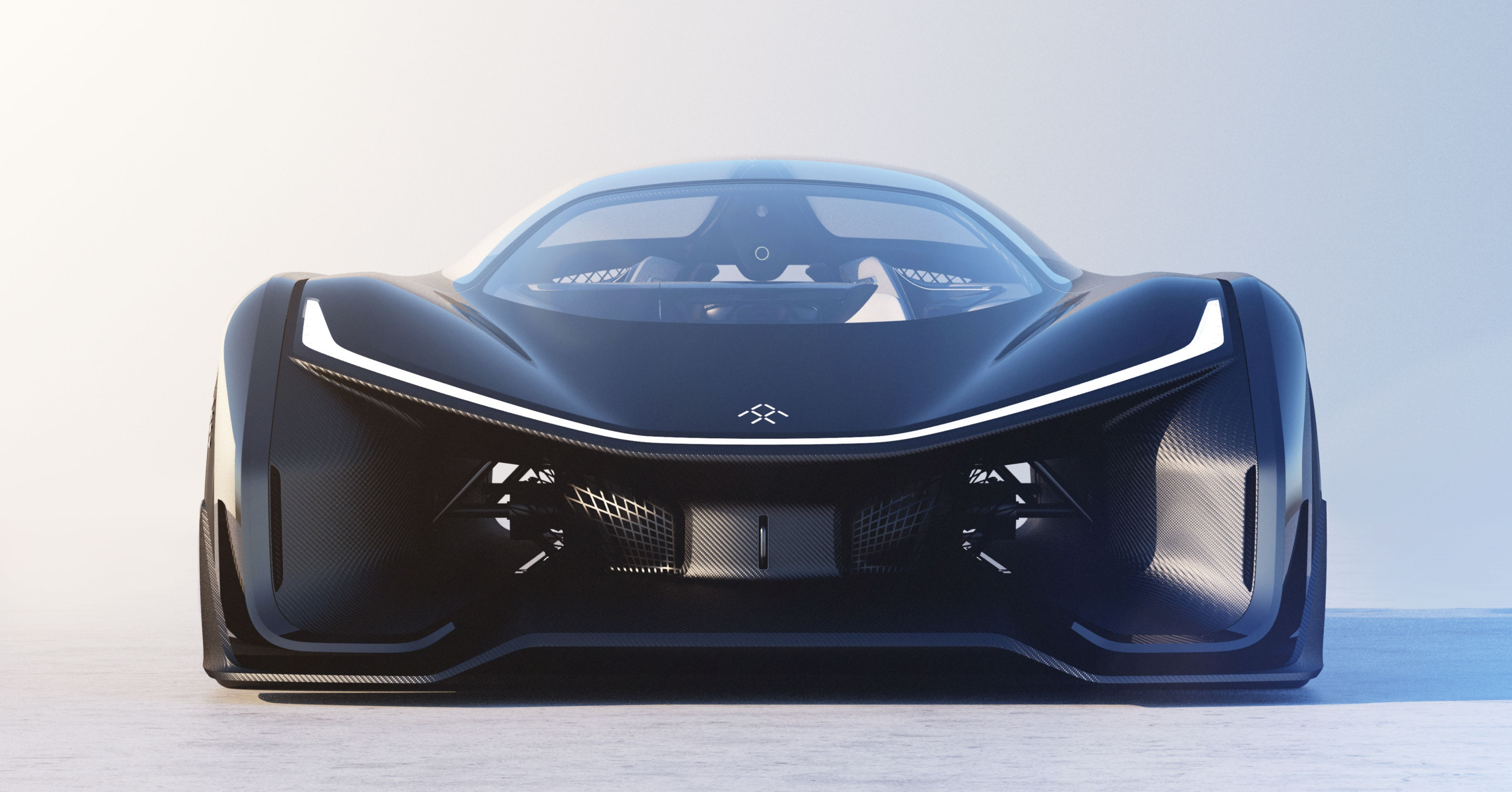 Wallpaper Faraday Future Electric Car Best Electric
