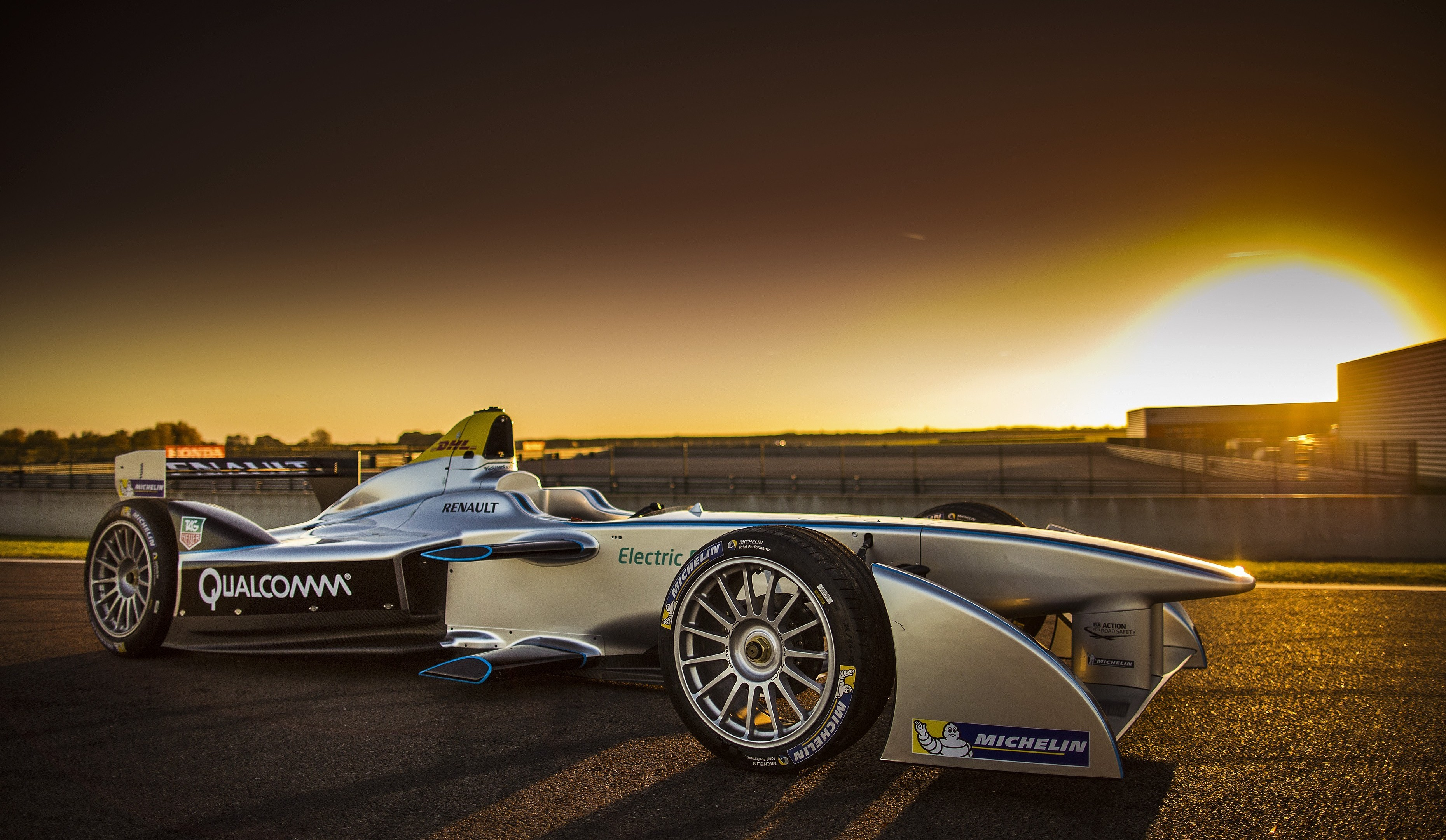 Wallpaper Fia Formula E 2015 Sports Car Electric Cars