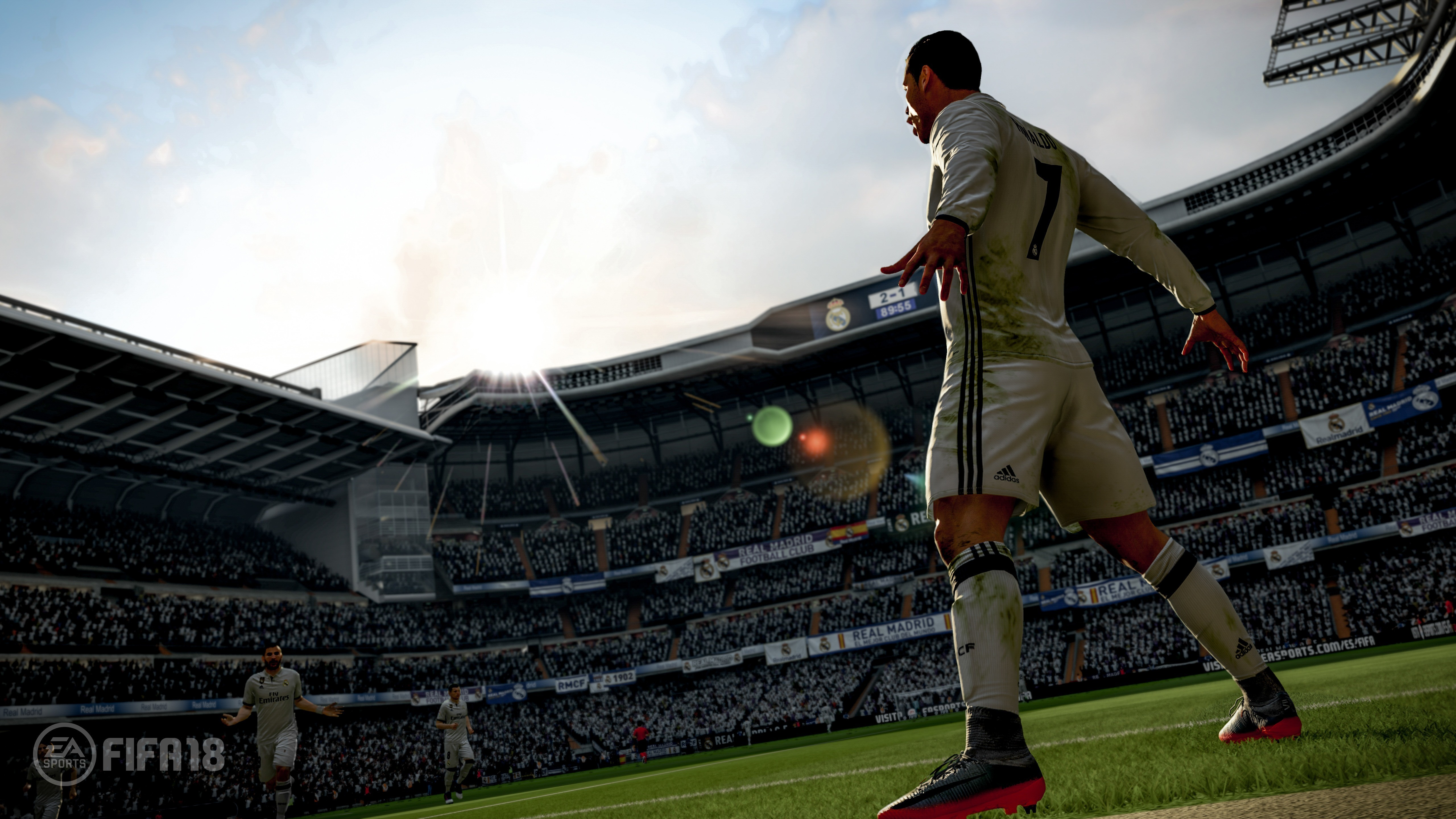 Wallpaper FIFA 18 4k Screenshot Poster E3 2017 Games 13691