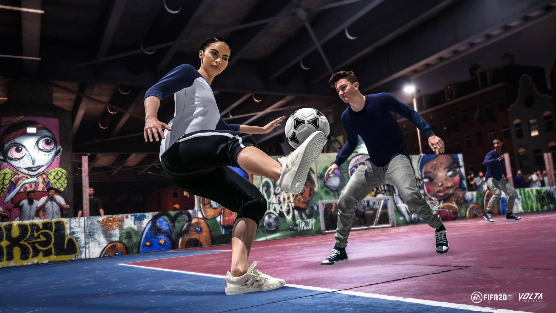Wallpaper FIFA 20 Volta E3 2019 Screenshot 4K Games 21621