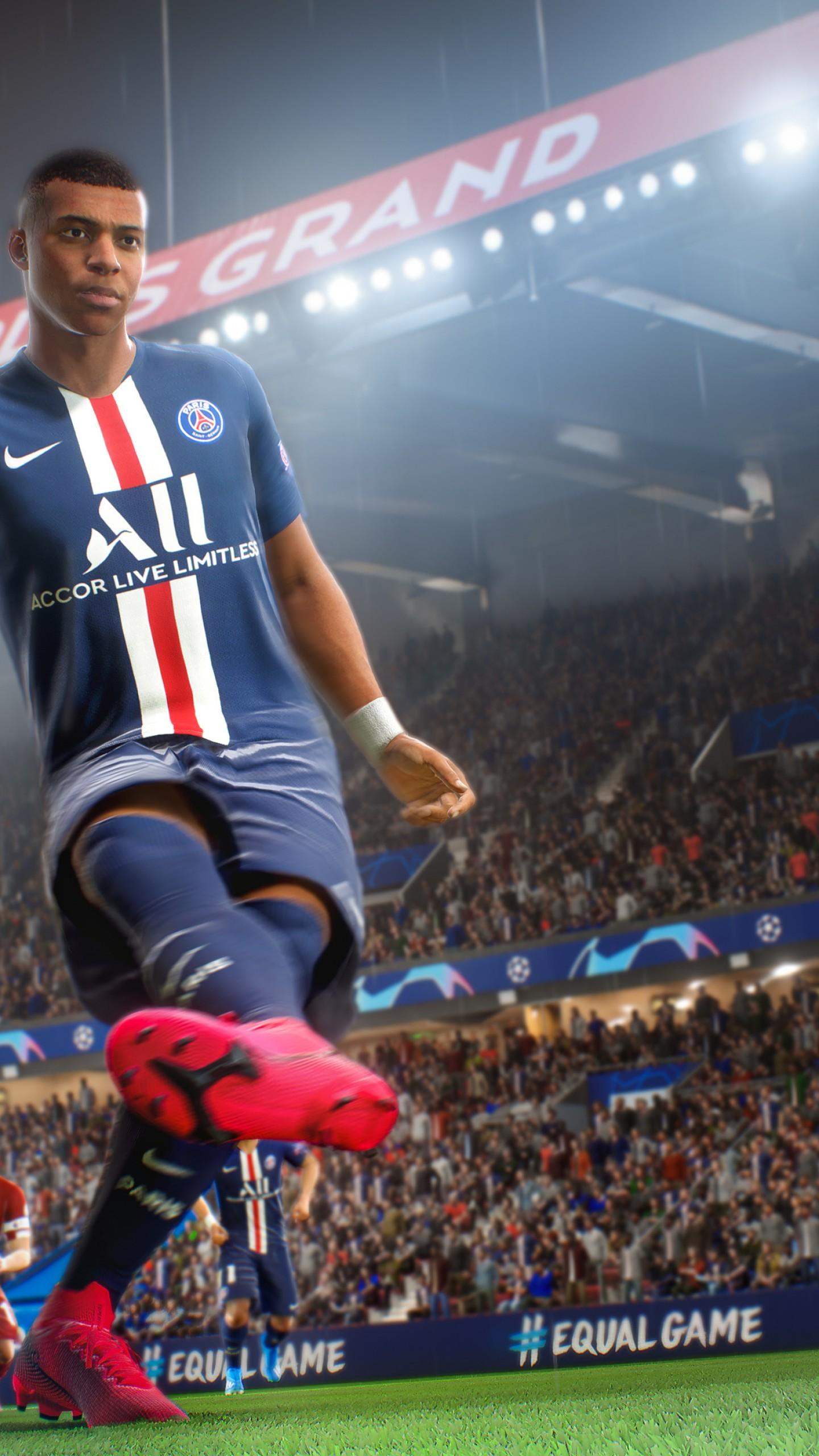 Wallpaper FIFA 21, screenshot, 4K, Games #23012