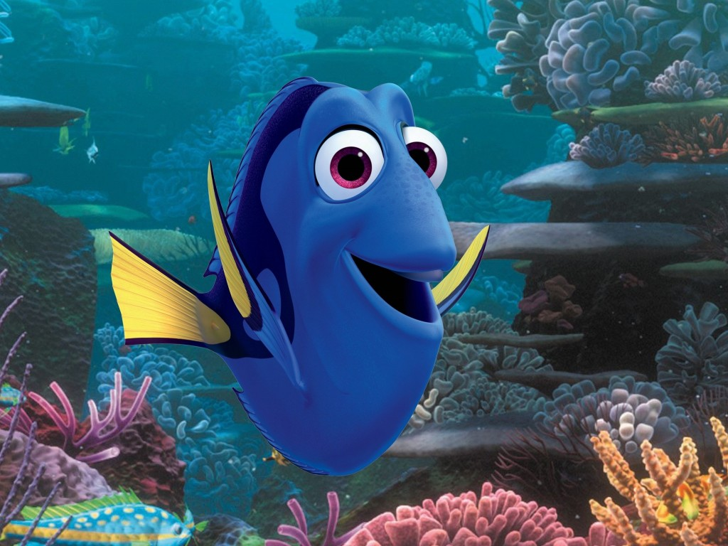Finding dory wallpaper movies finding dory nemo fish for Finding nemo fish