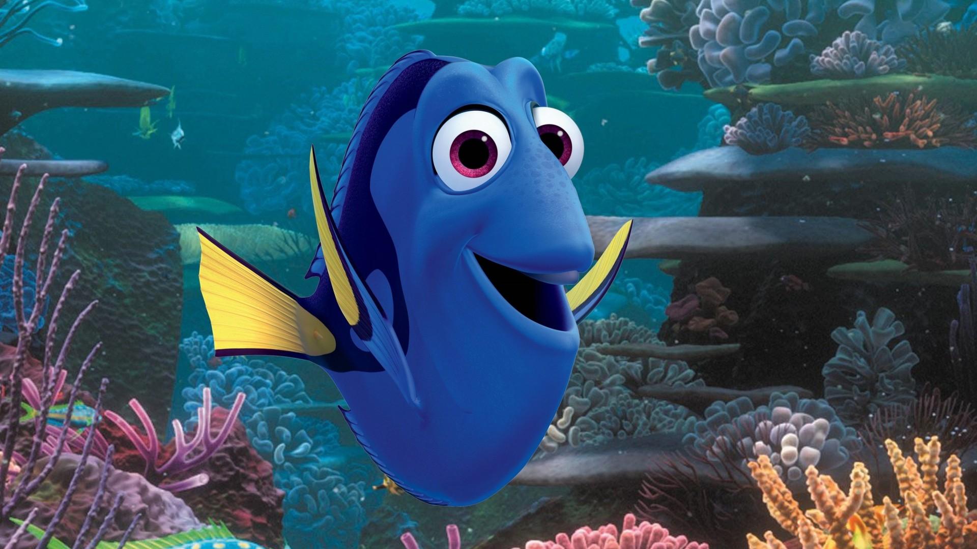 Wallpaper Finding Dory Nemo Fish Pixar Animation Movies 8014