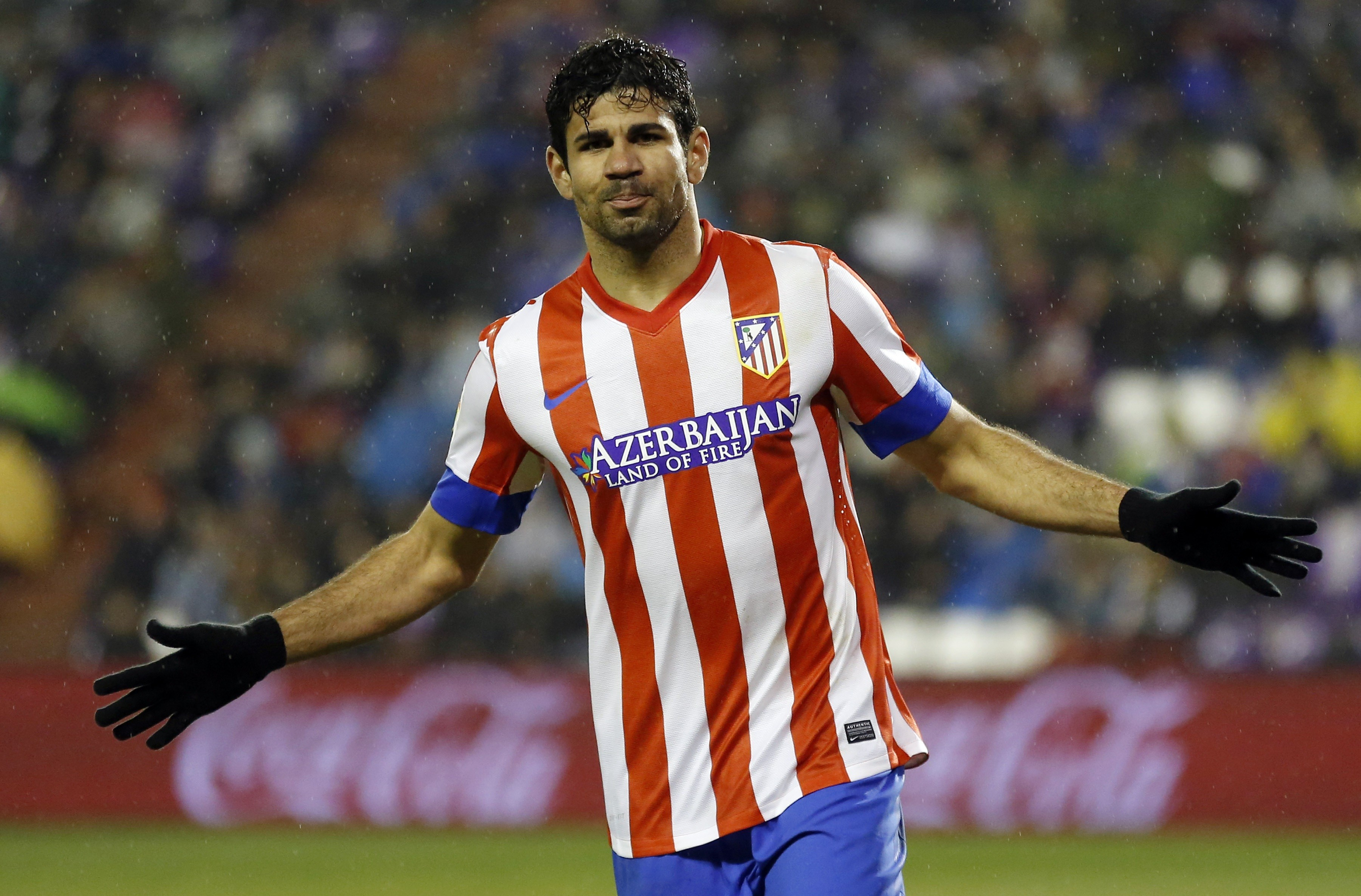 Wallpaper Football, Diego Costa, soccer, The best players 2015, FIFA, Chelsea, Striker ...