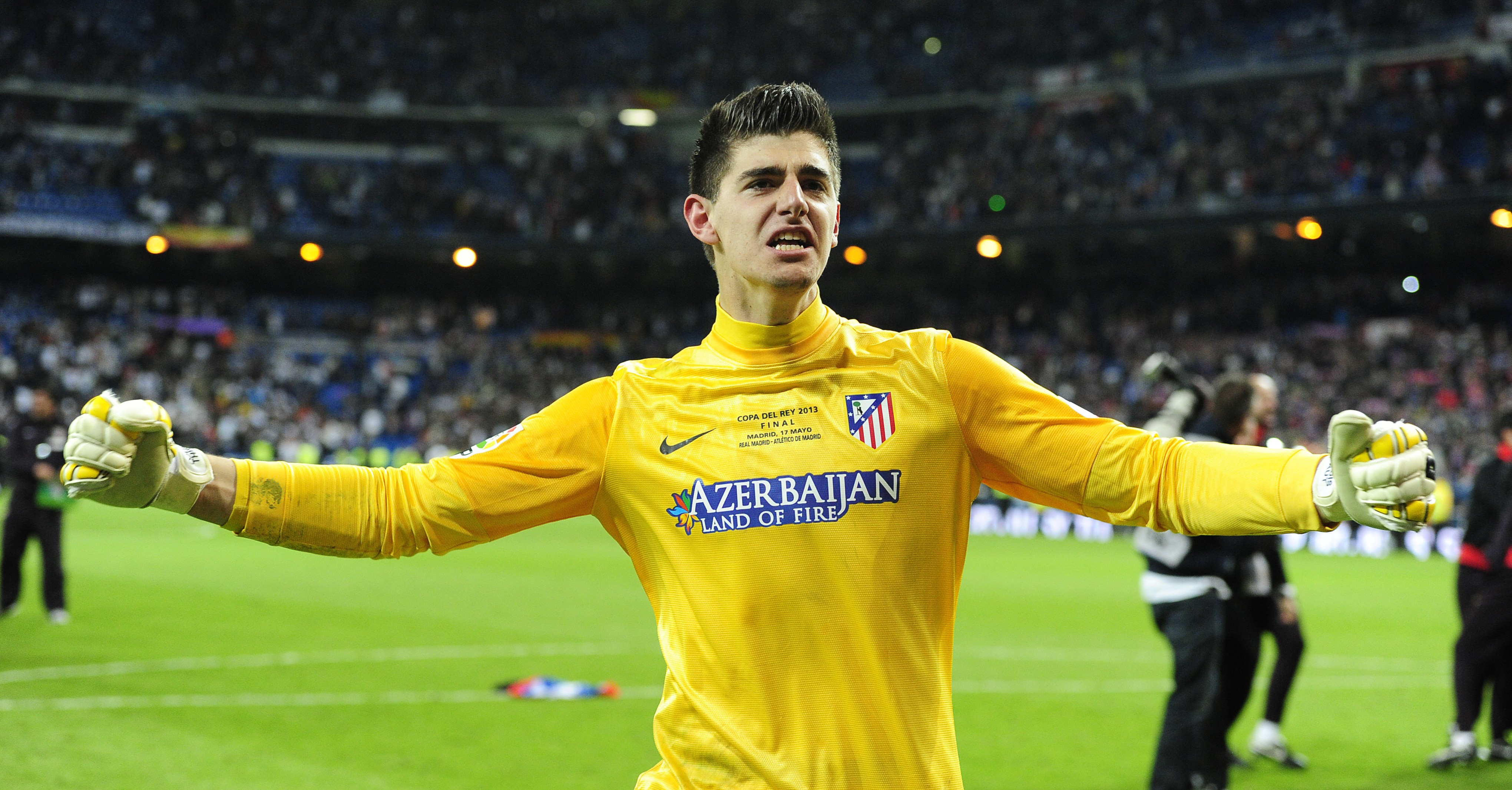 Wallpaper Football Thibaut Courtois soccer The Best players