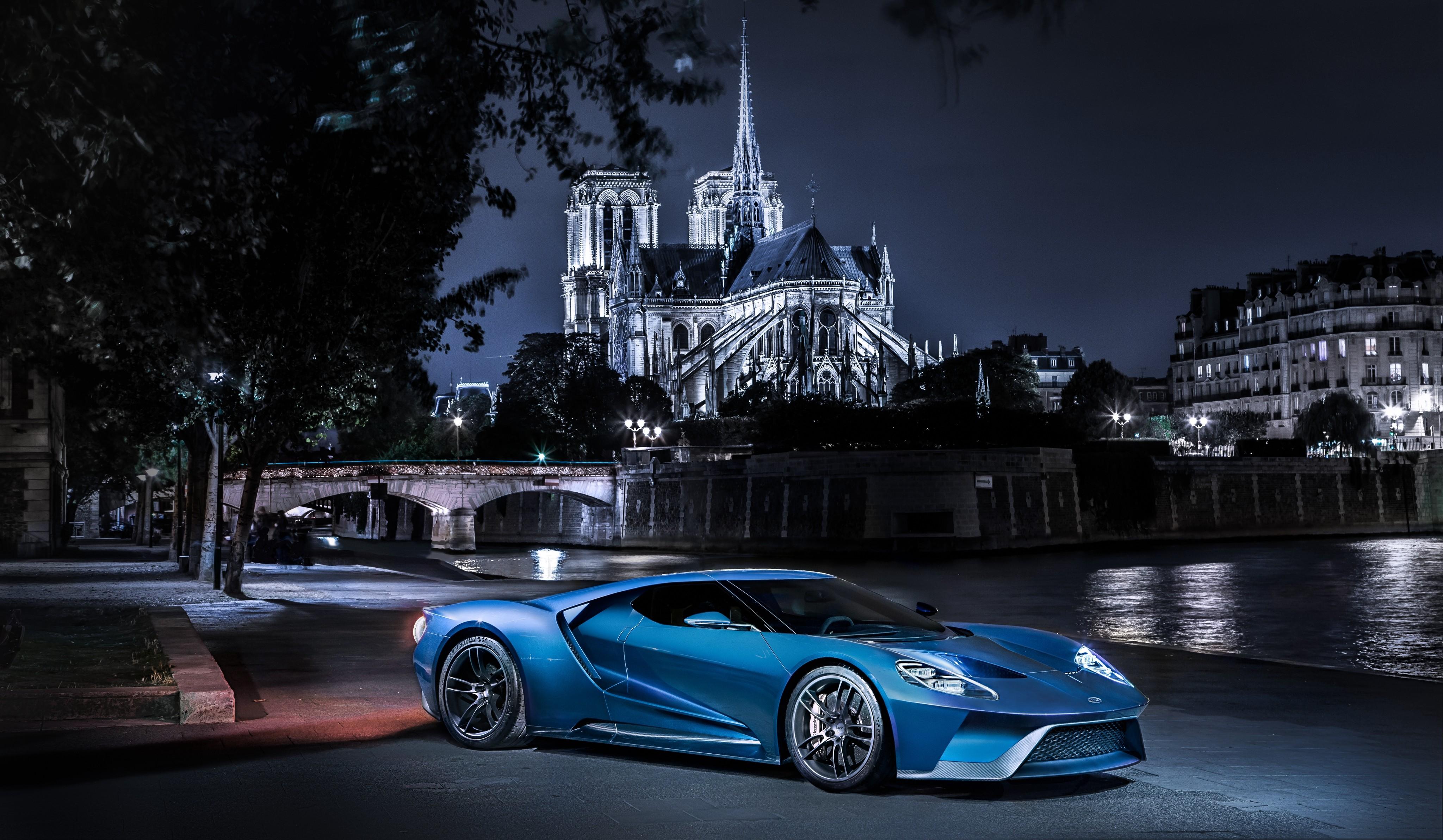wallpaper ford gt supercar concept blue sports car luxury cars test drive cars bikes 8040. Black Bedroom Furniture Sets. Home Design Ideas
