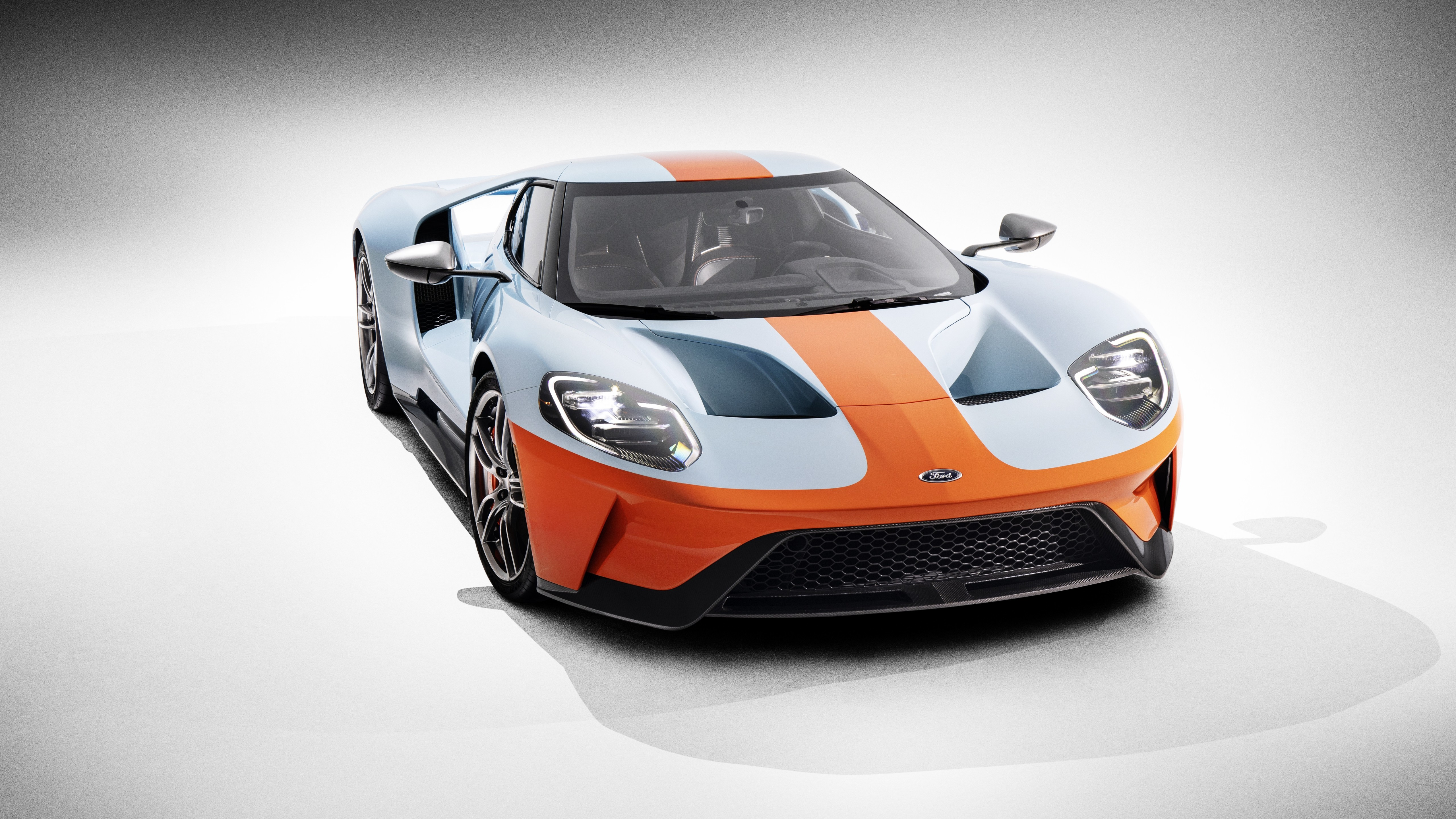 Wallpaper Ford Gt Heritage Edition 2019 Cars Supercar