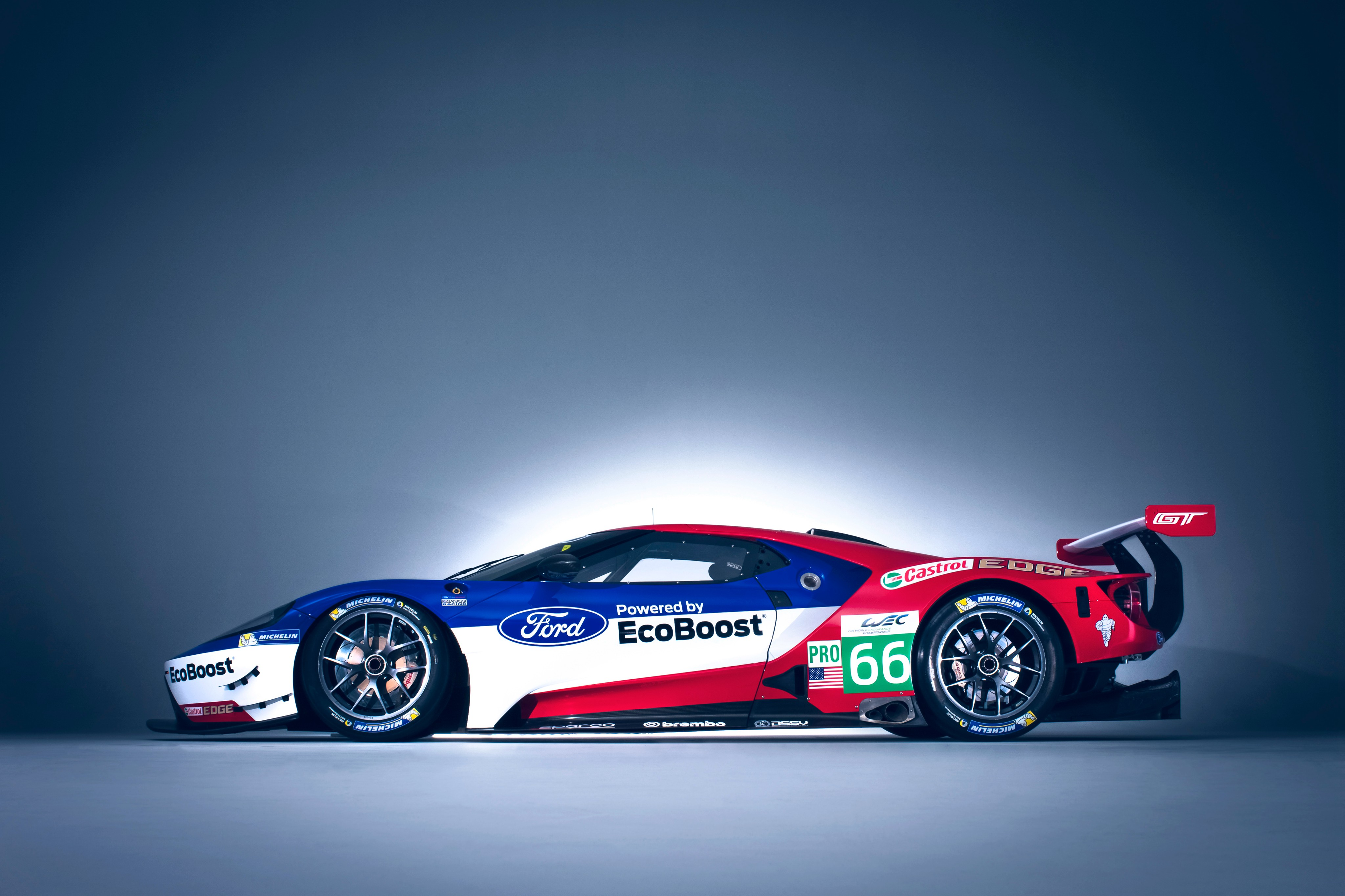 wallpaper ford gt race car 24 hours of le mans cars