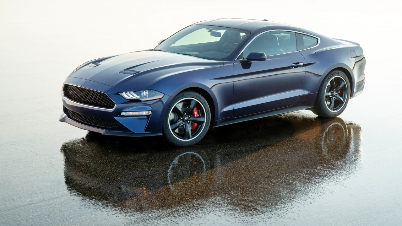 Wallpaper Ford Mustang Bullitt Kona Blue 2019 Cars 5k