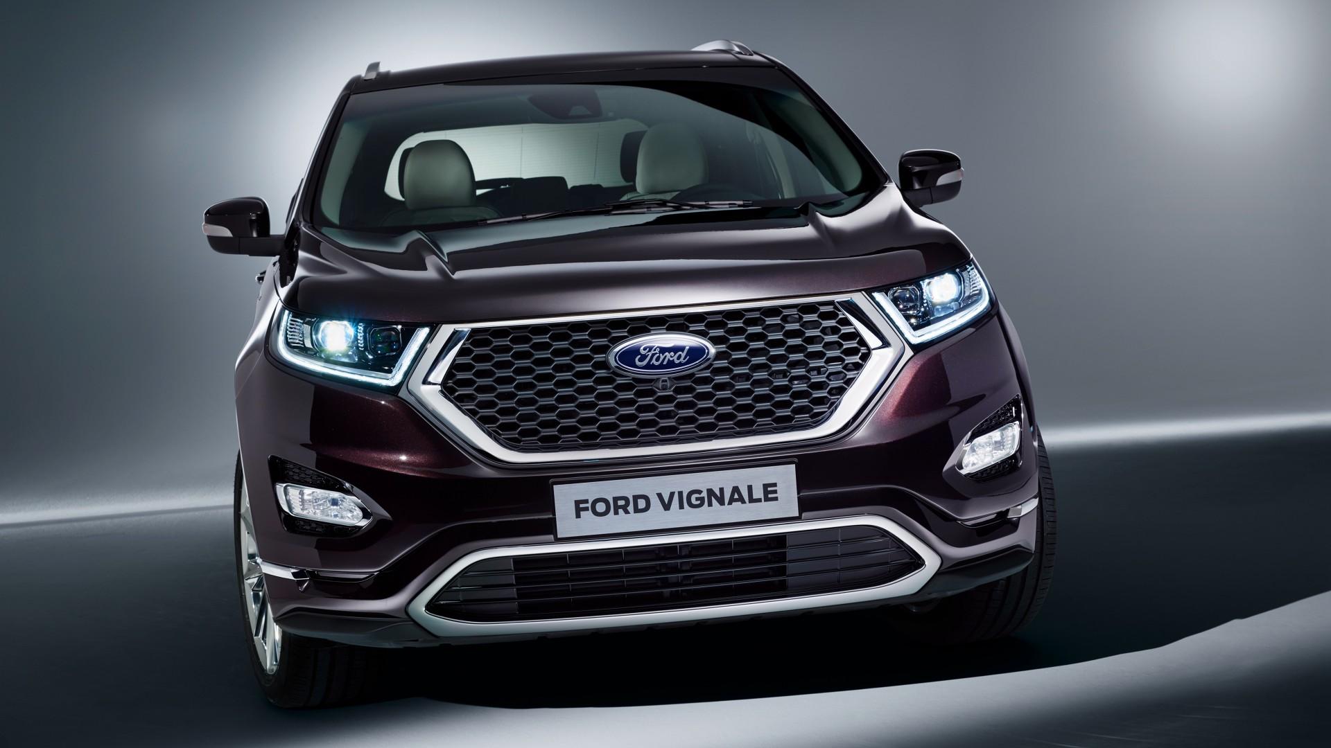 Wallpaper Ford Vignale Edge Geneva Auto Show 2016