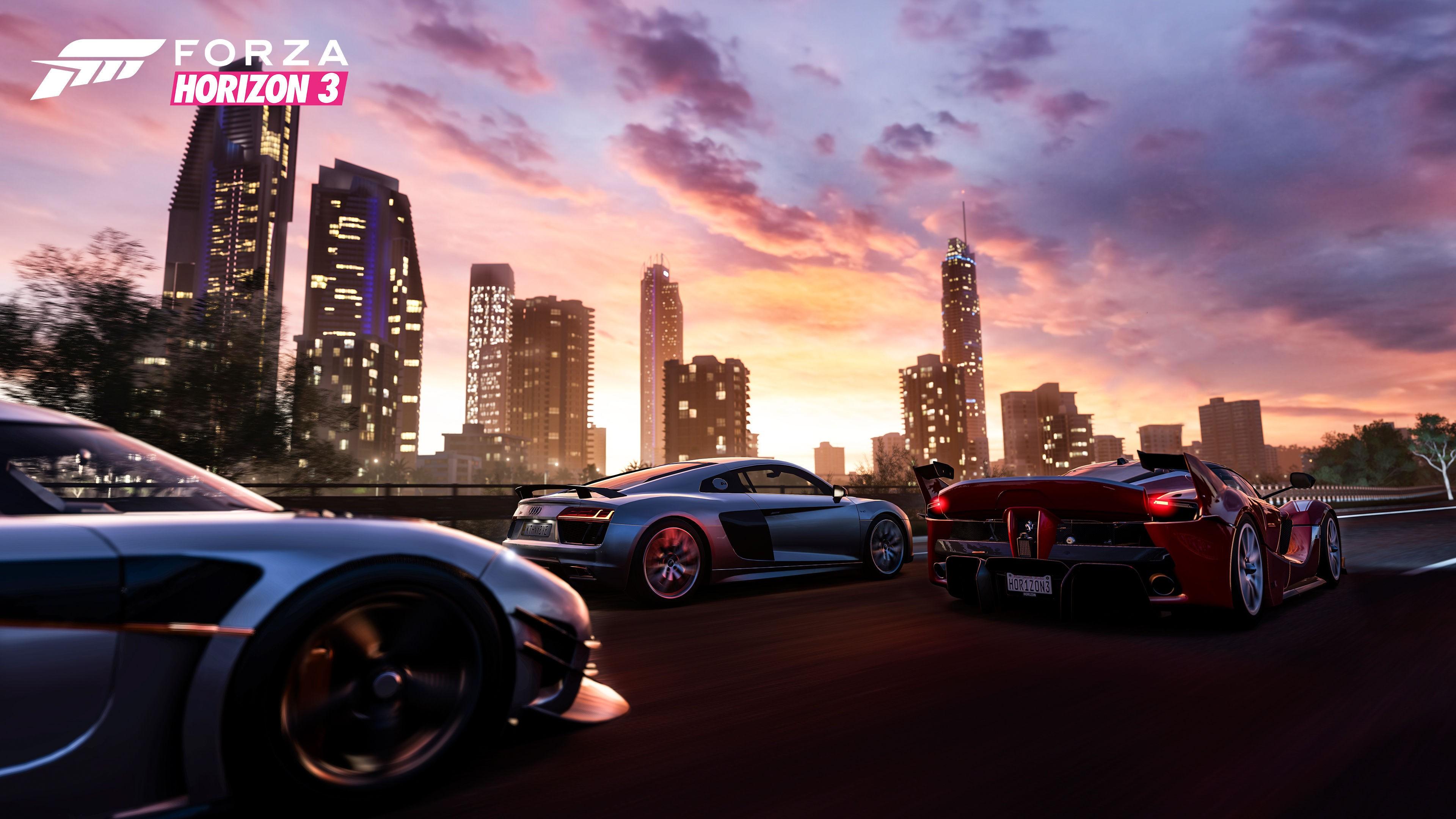 Wallpaper Forza Horizon 3 Racing Extreme E3 2016 Best Games