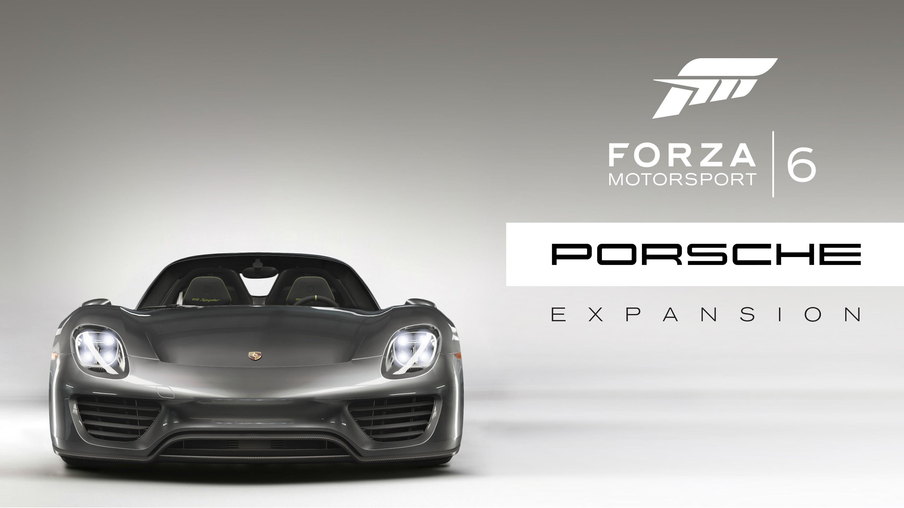 Wallpaper Forza Motorsport 6 Apex Porsche Expansion