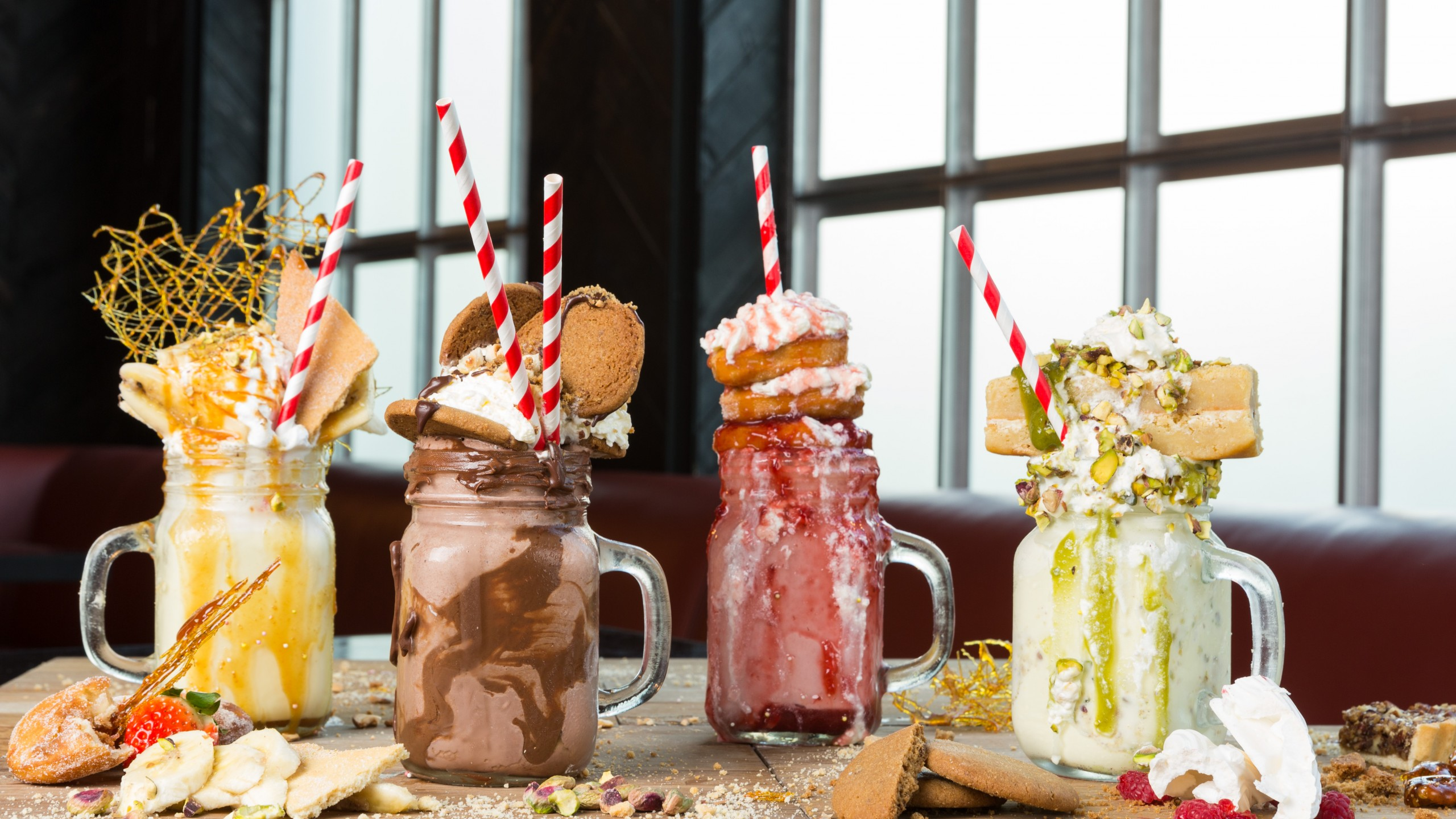 Wallpaper Freak Shake Freakshakes Milk Shake Cake Food