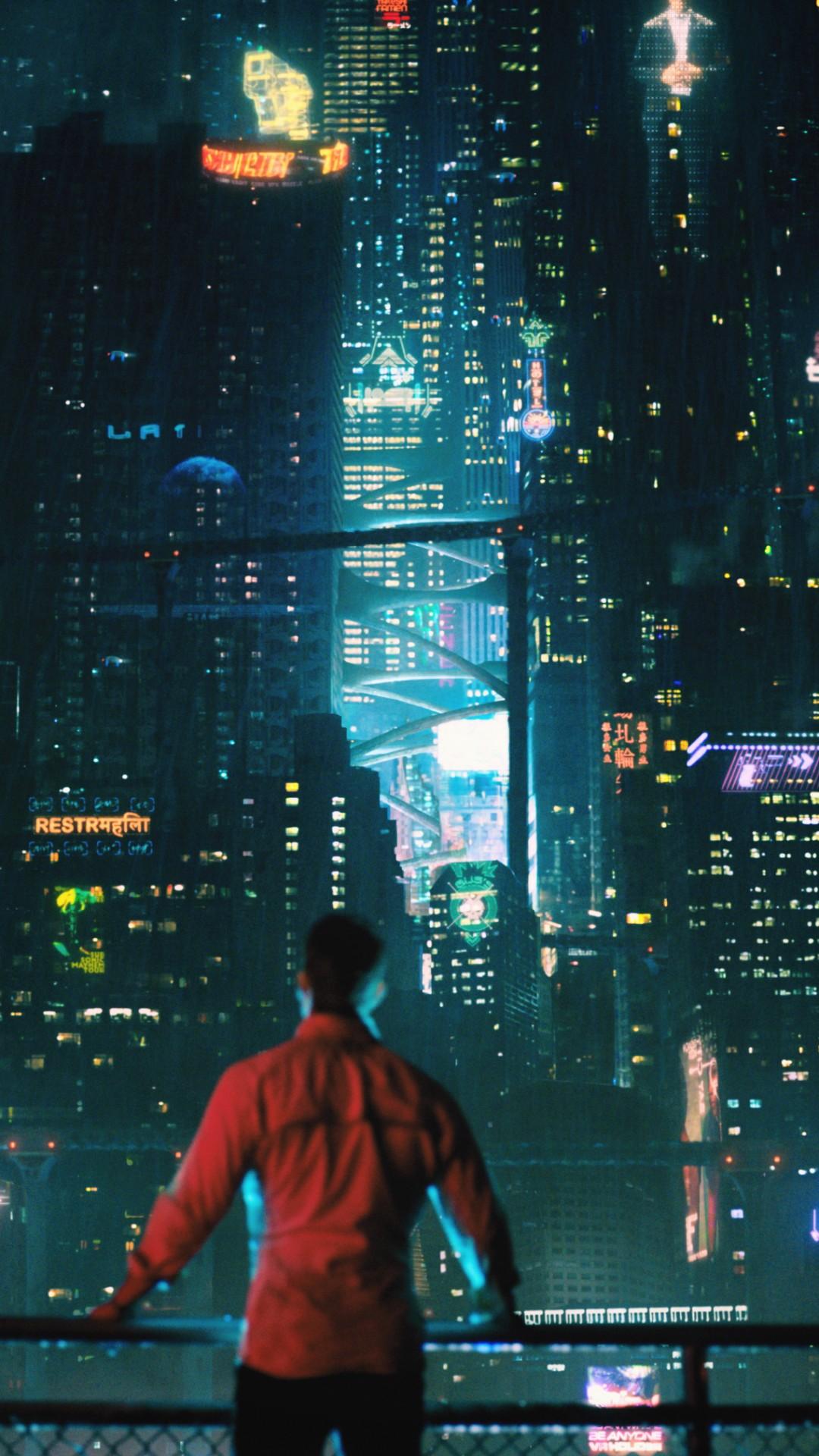 Wallpaper Futuristic Cyberpunk Future World 4k Art 20450