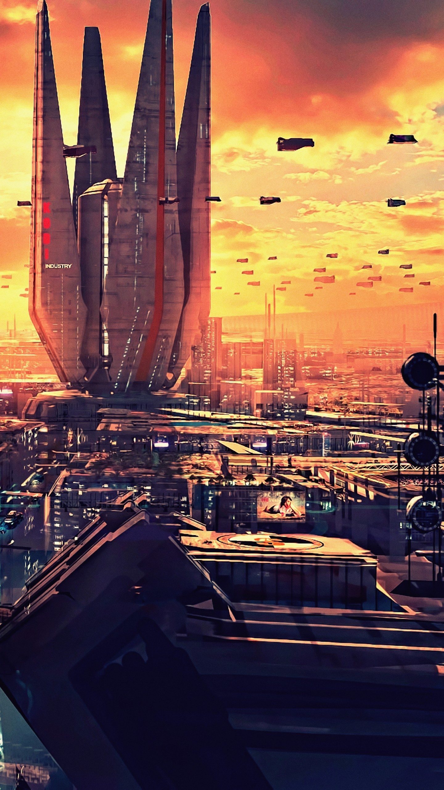 Wallpaper futuristic future world 4K Art 20319