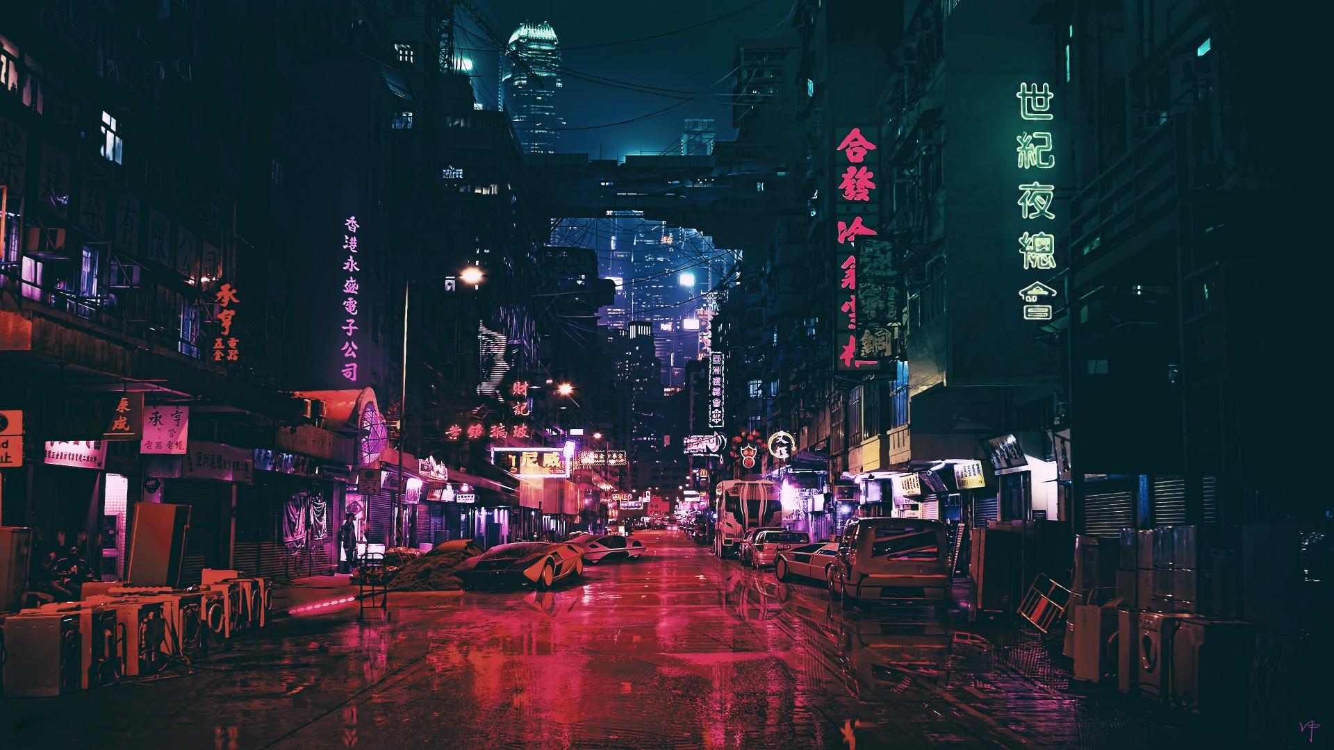 Wallpaper Futuristic Future World Night 4k Art 20316