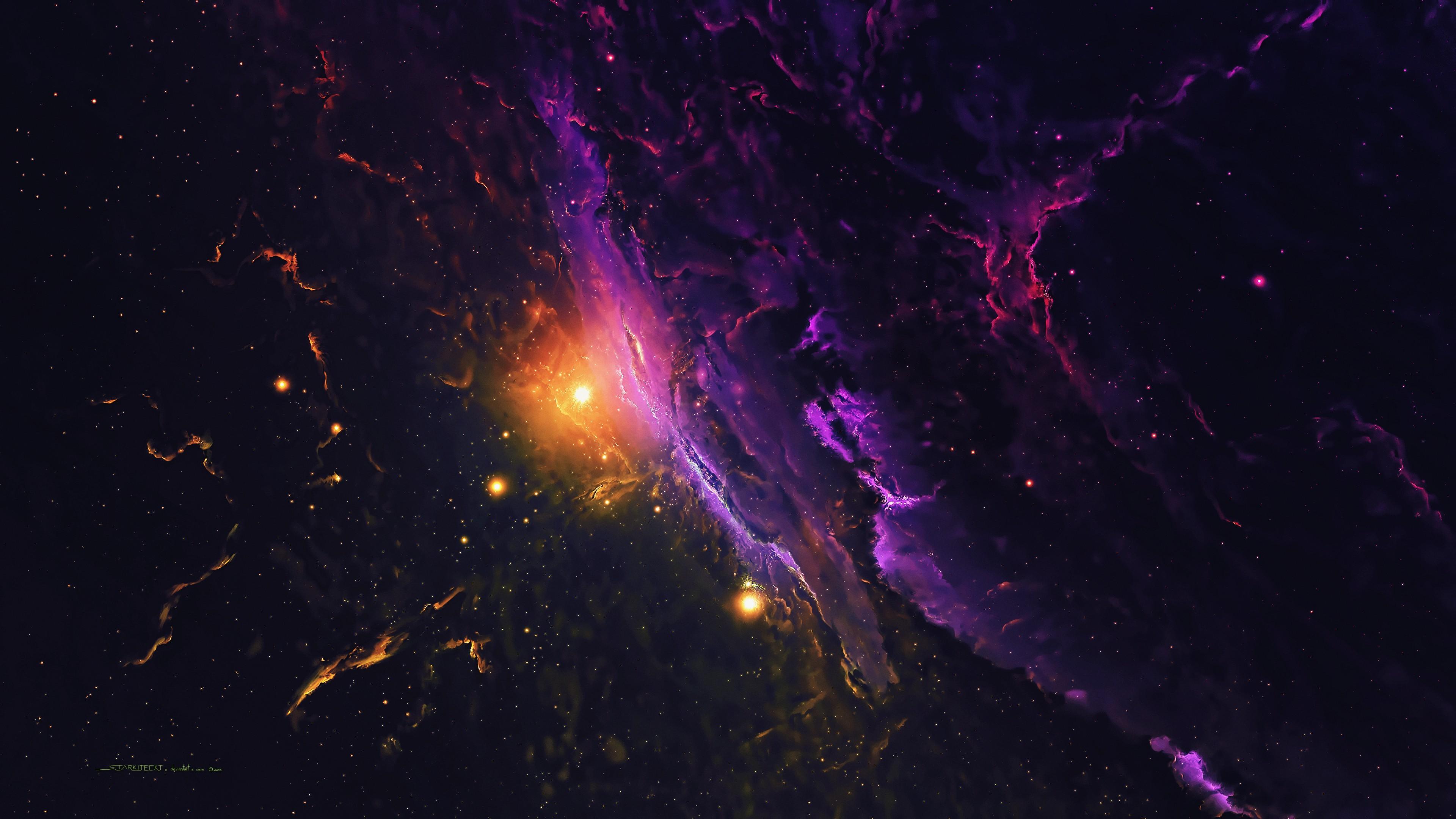 galaxy 3840x2160 space 4k 20329