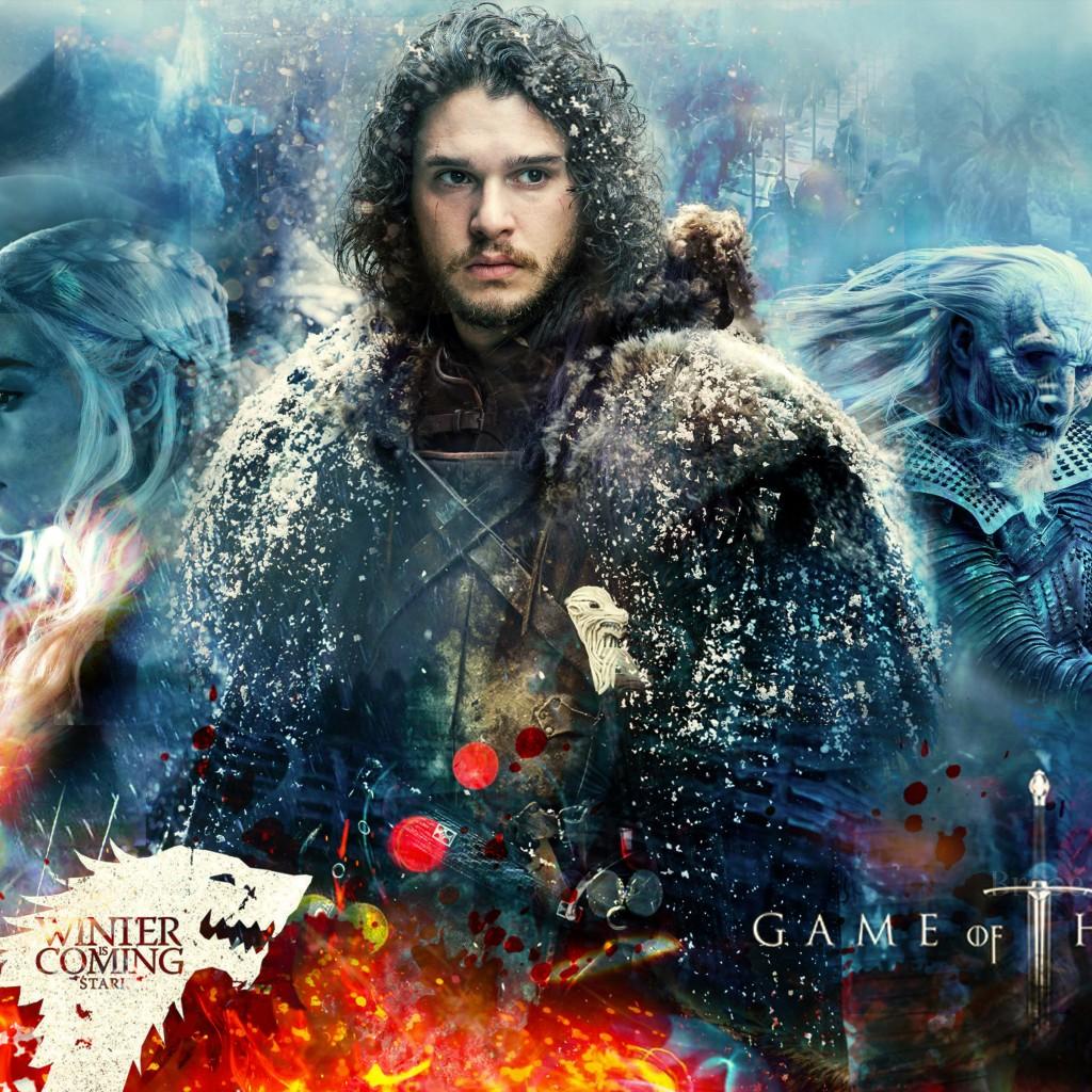 Jon Snow And Daenerys Wallpaper 77067 | VIZUALIZE