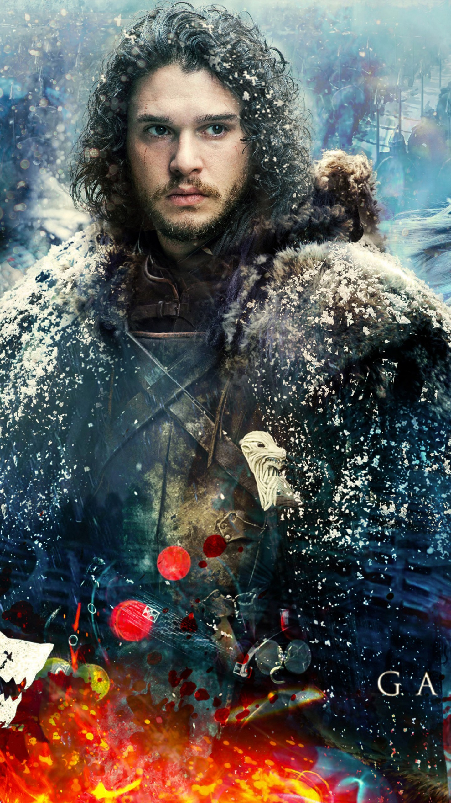 Wallpaper Game Of Thrones Season 7 Jon Snow Daenerys Targaryen