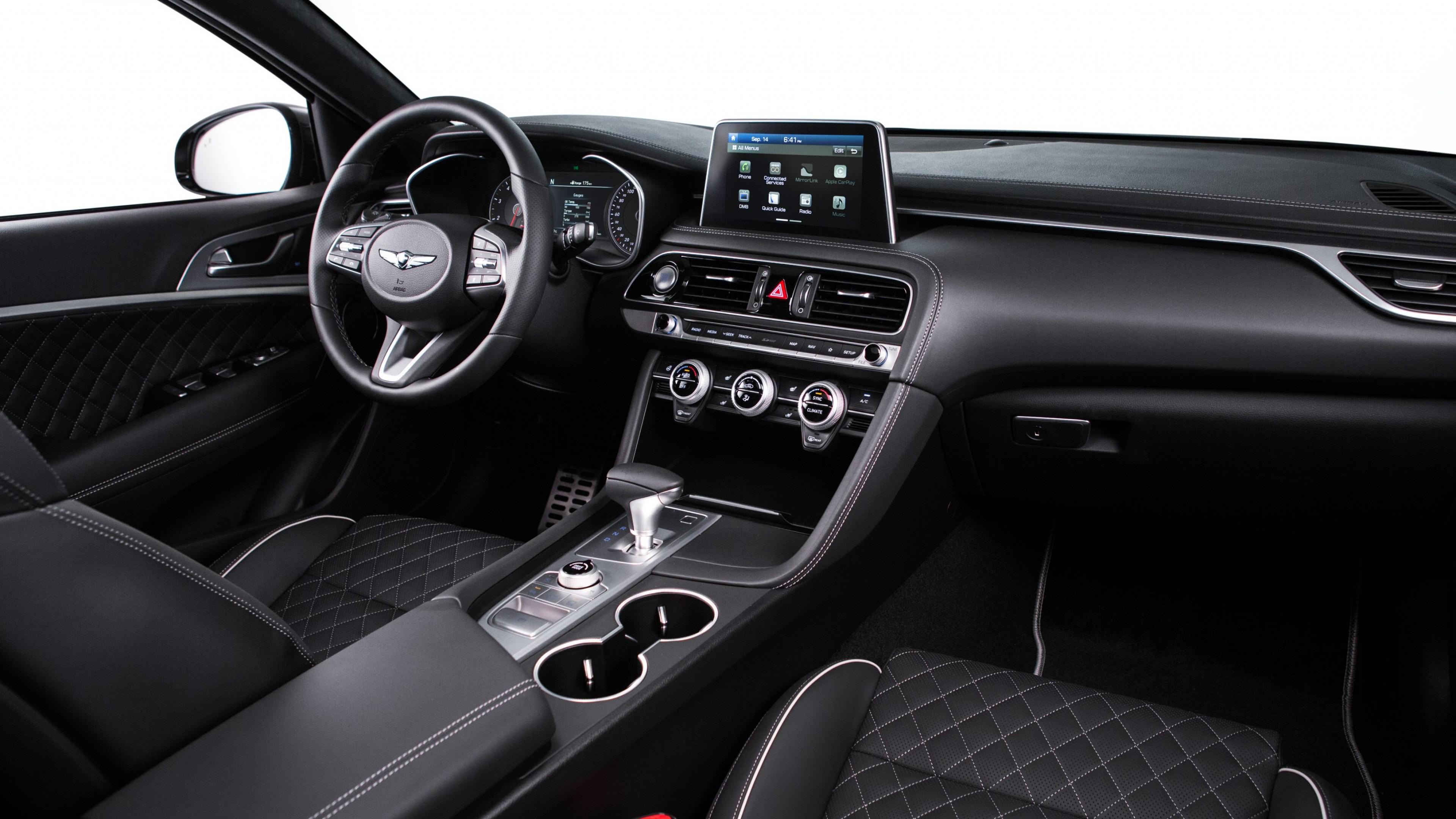 Luxury 2019 Vehicles: Wallpaper Genesis G70, 2019 Cars, Luxury Cars, 4K, Cars
