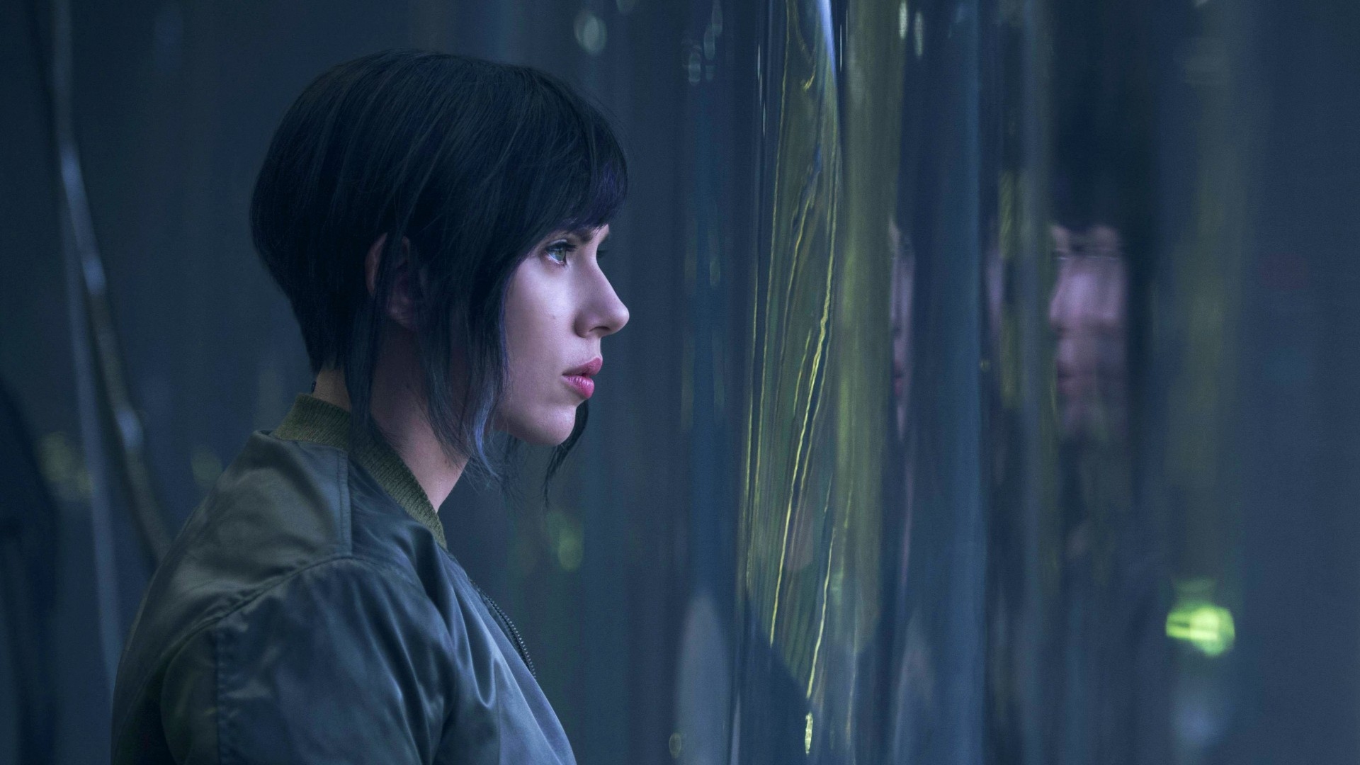 Wallpaper Ghost In The Shell Scarlett Johansson Movies 10563